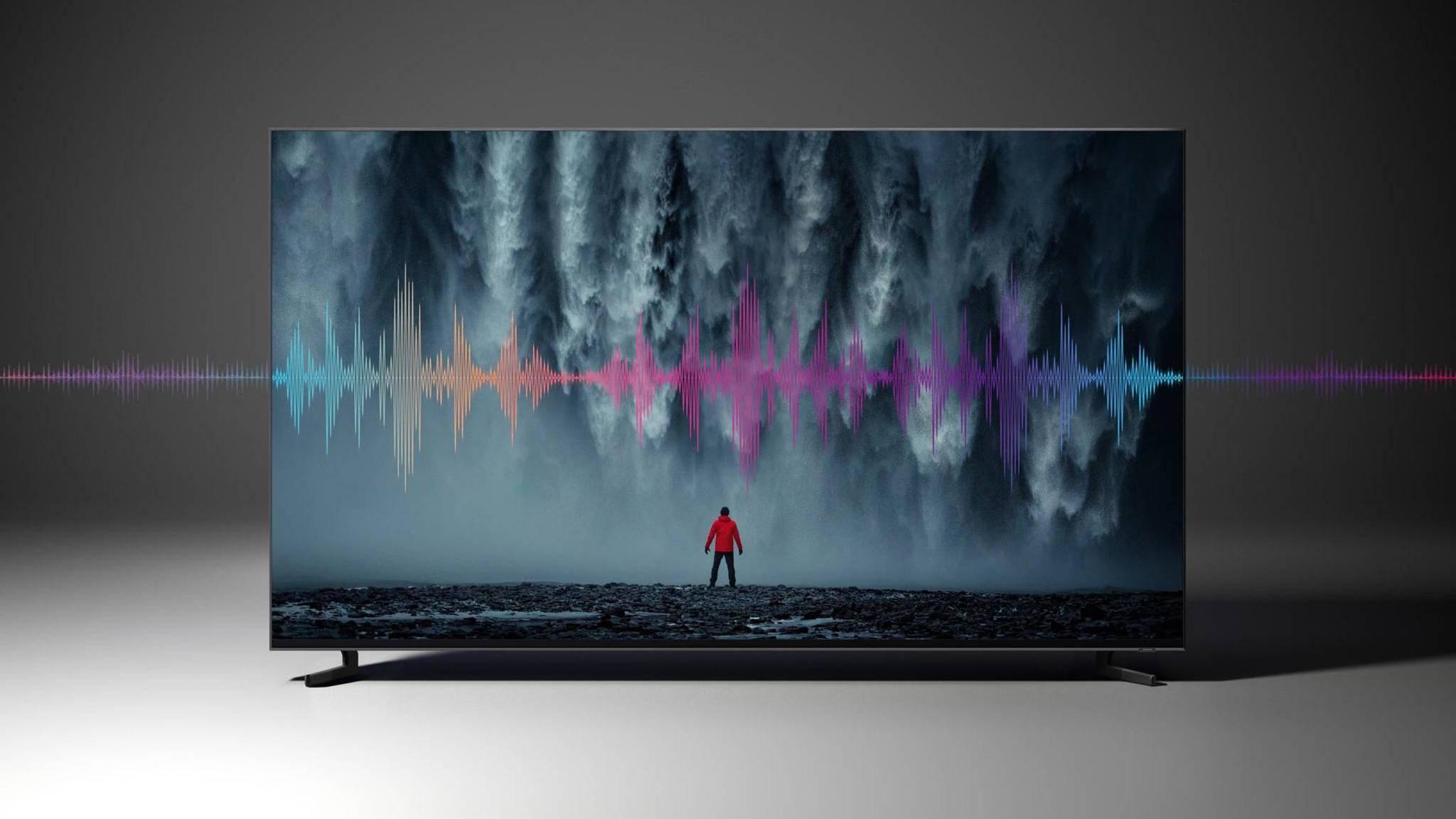 Der Samsung Q900 ist einer der ersten 8K-TVs.