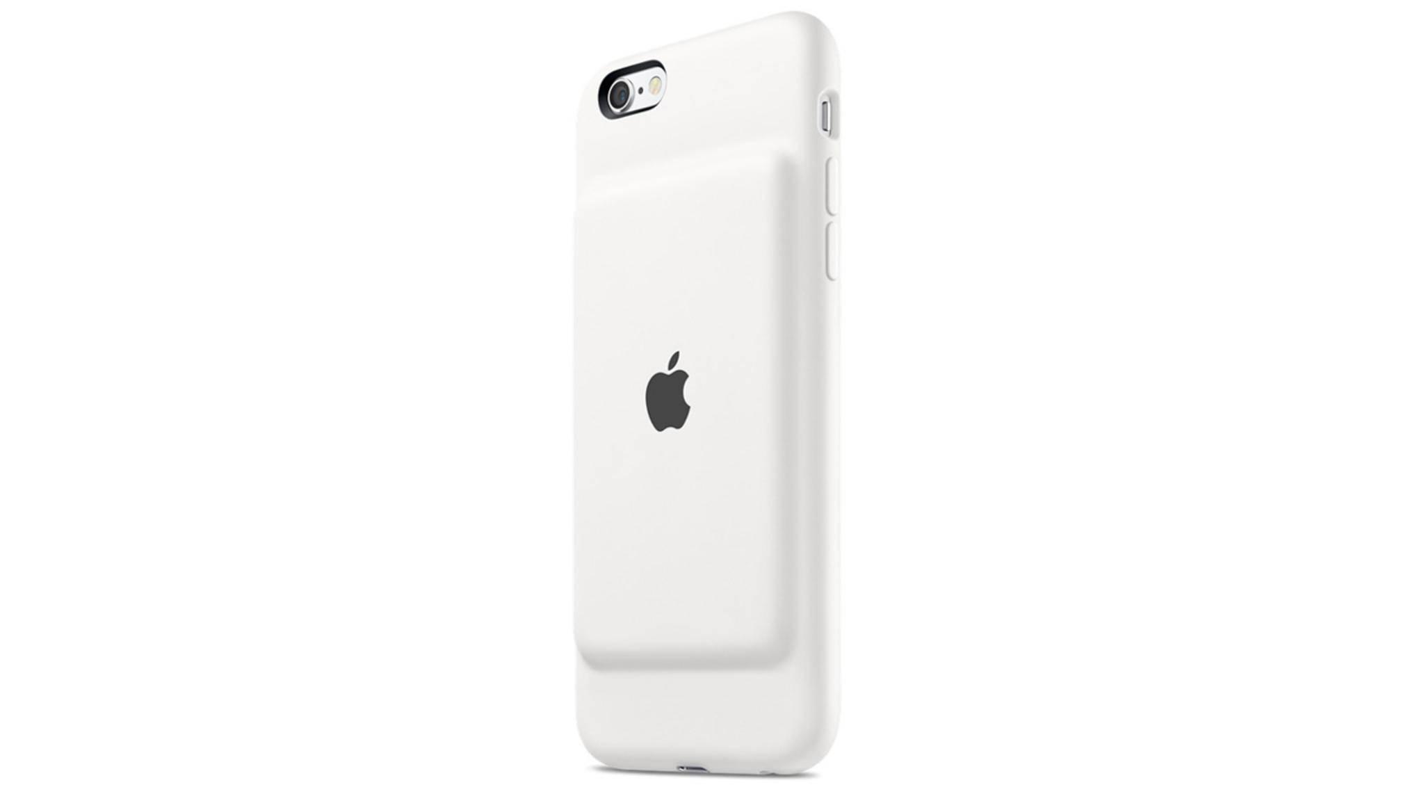 So sieht das alte Smart Battery Case für das iPhone 6s aus.