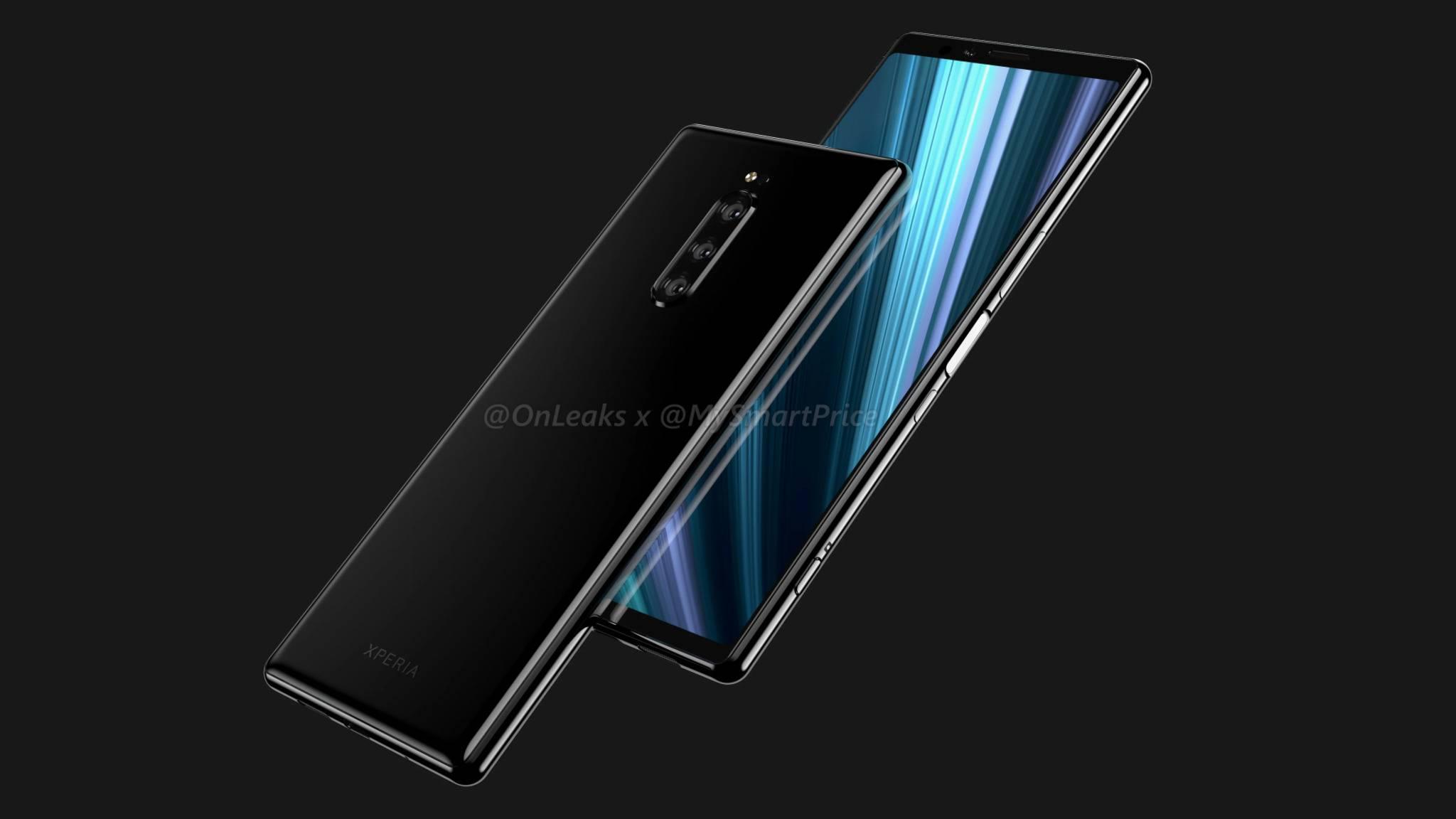 Das Sony Xperia XZ4 kommt wohl mit Notch-losem 21:9-Display.