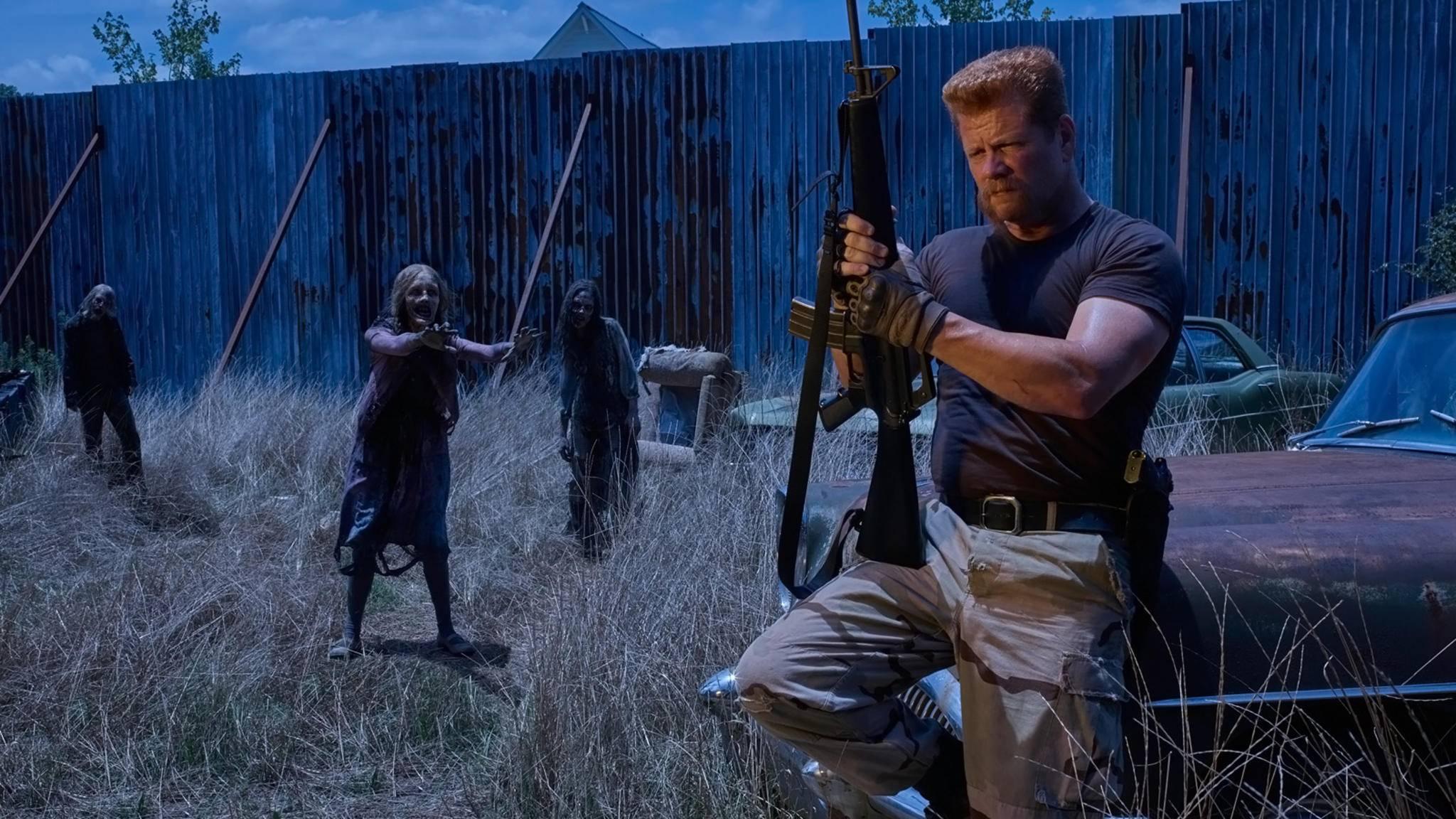 Mit Rick und Negan hat Abraham-Darsteller Michael Cudlitz noch ein Hühnchen zu rupfen.
