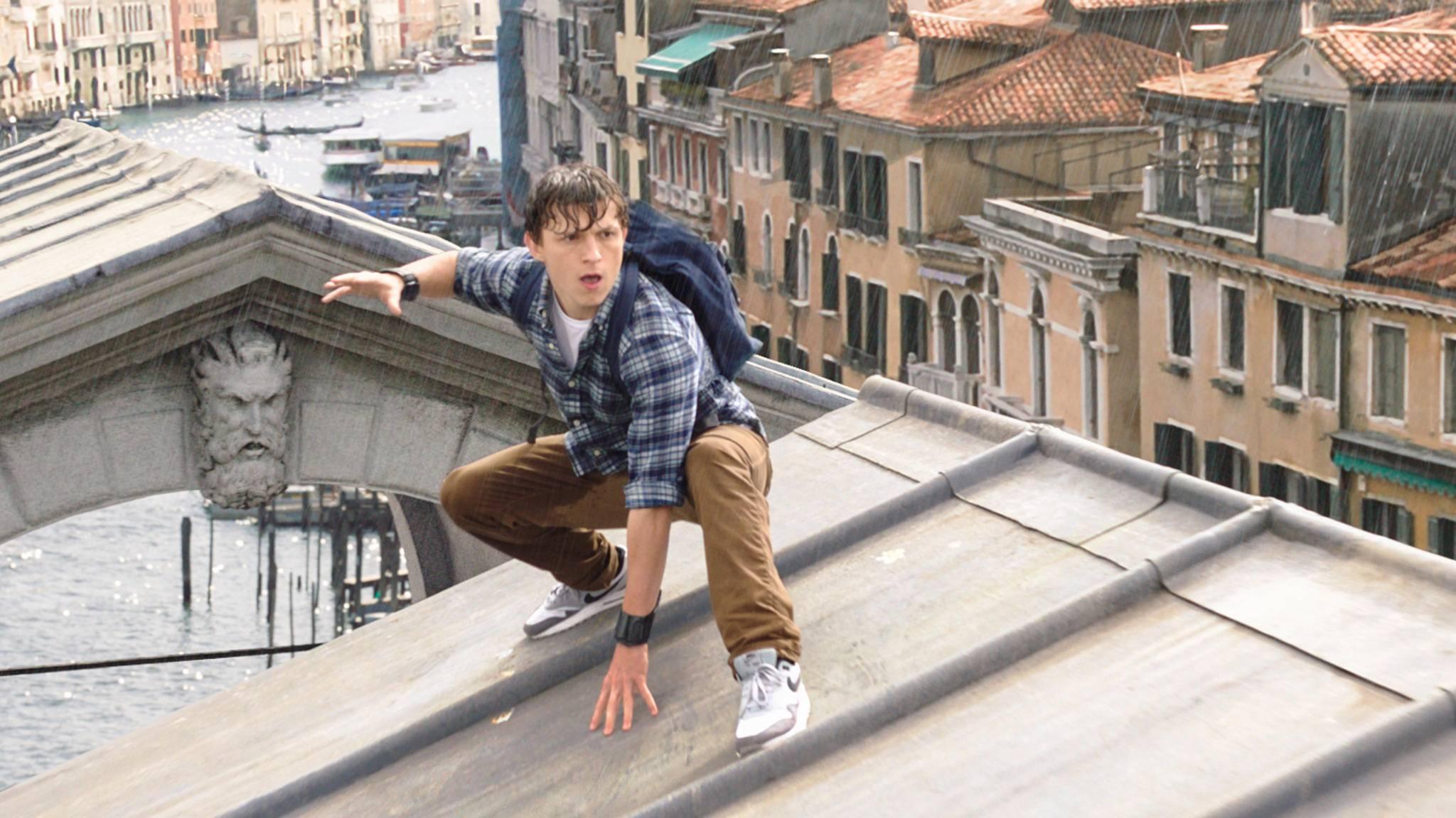 """Tom """"Spider-Man"""" Holland ist nicht gerade ein Meister der Verschwiegenheit ..."""