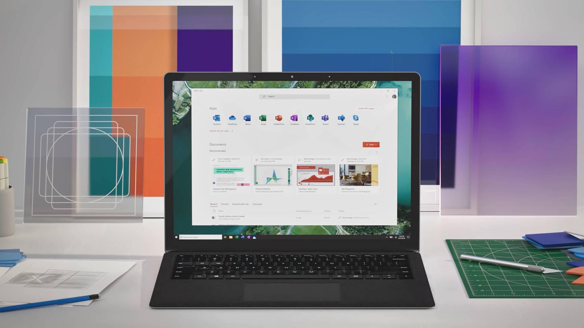 Die Microsoft-Software in Windows 10 bekommt neue Icons.