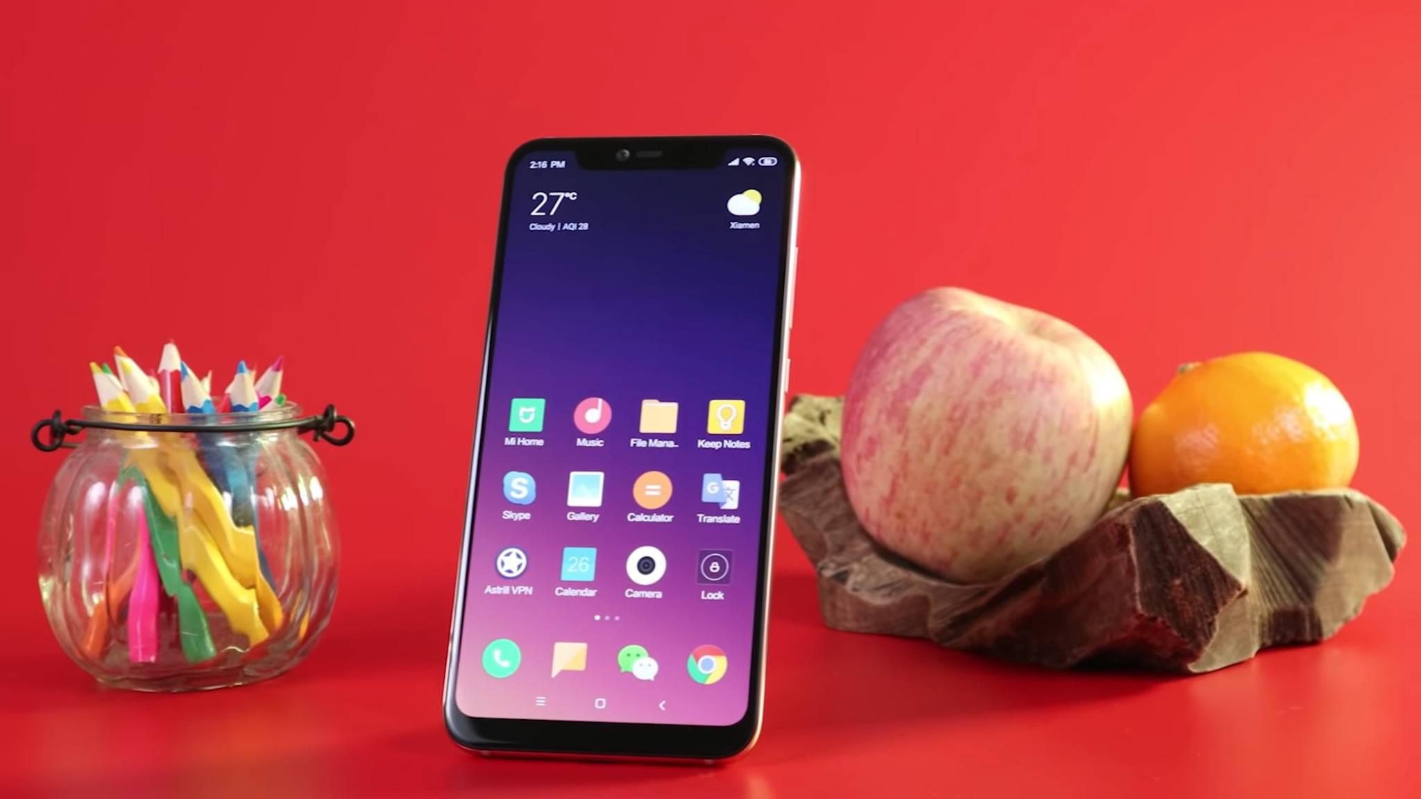 Xiaomi-Smartphones wie das Mi 8 Pro gibt es mittlerweile auch in Deutschland zu kaufen.