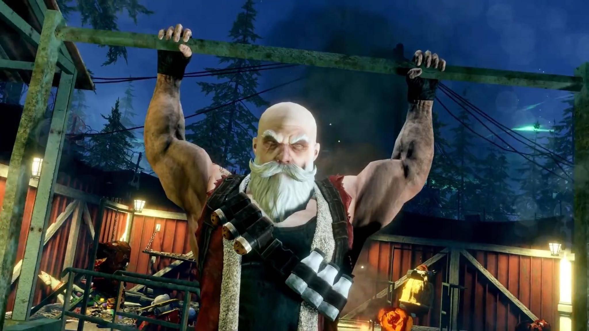 """Ist das noch Weihnachtsstimmung? Santa in """"Killing Floor 2""""."""