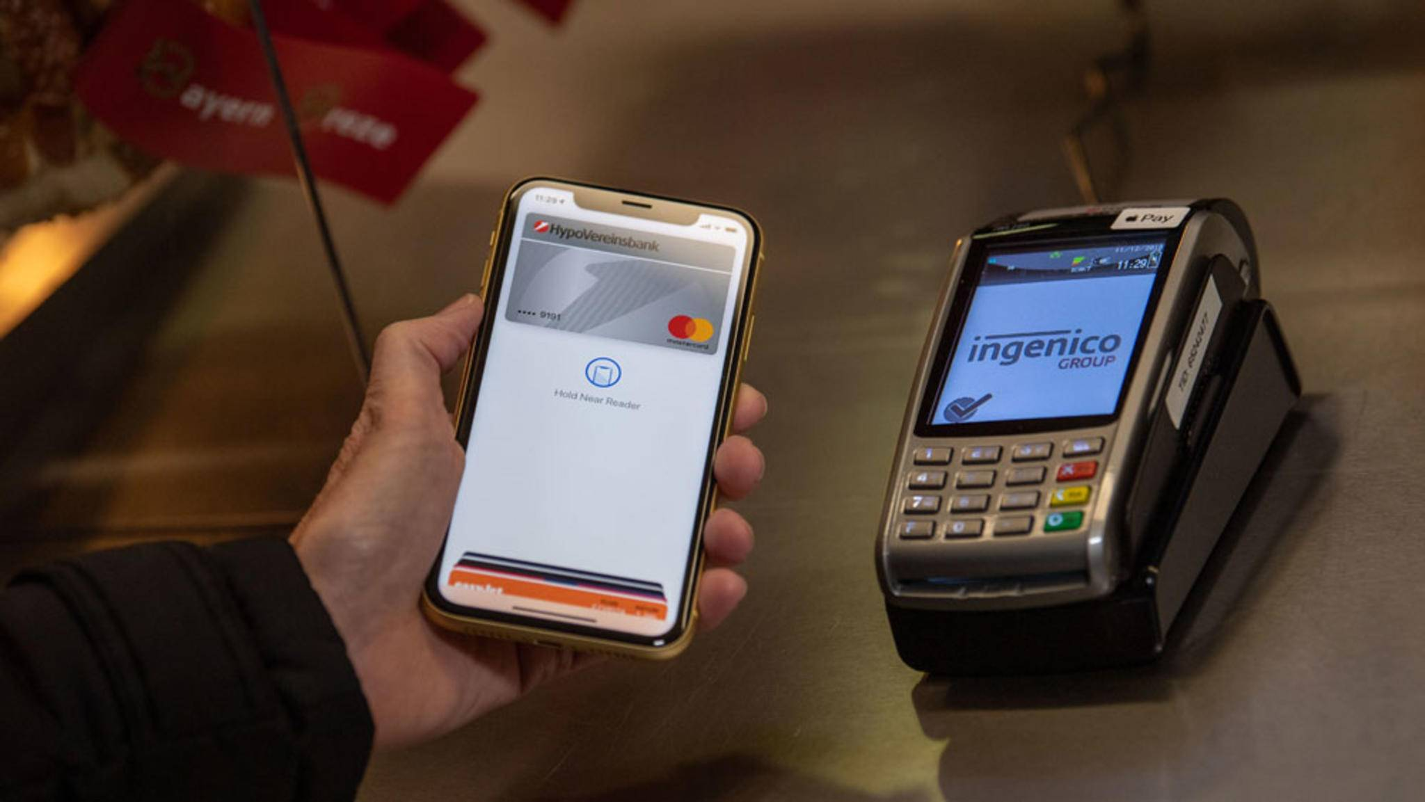 Die Sparkassen unterstützten Apple Pay nicht.
