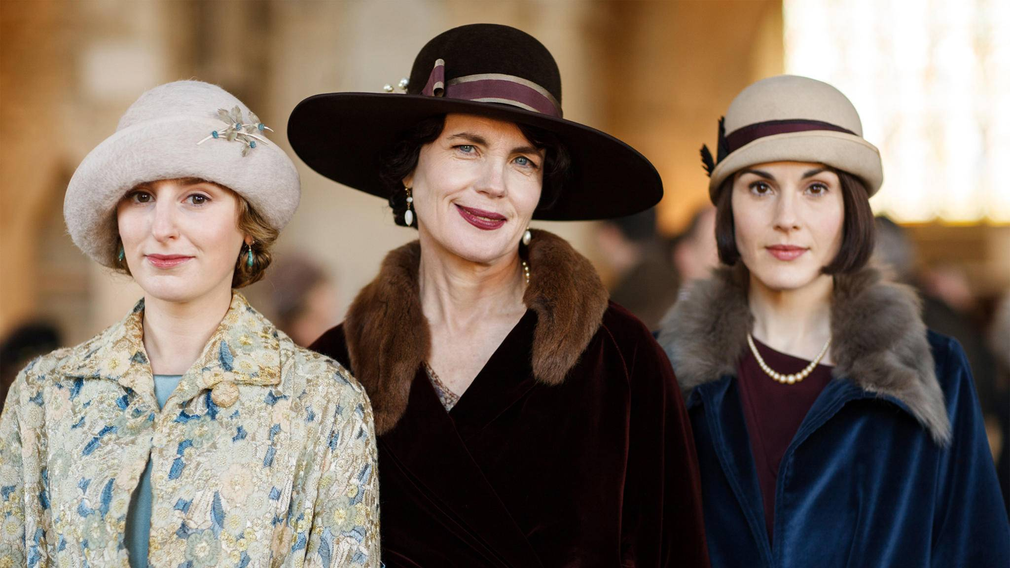 """Geschafft: Die letzte Klappe für den """"Downton""""-Abbey-Film ist gefallen."""