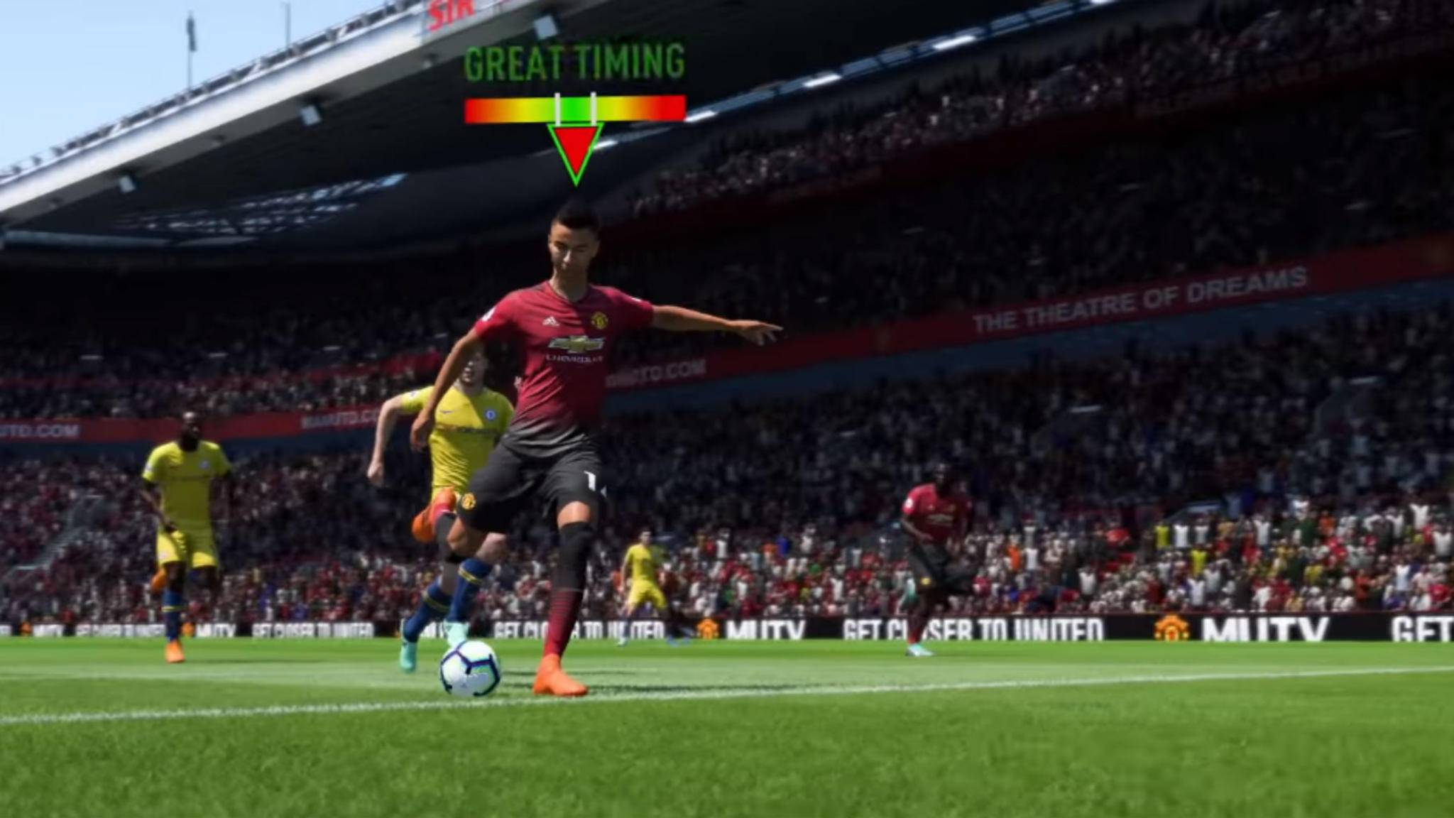 """""""FIFA 19"""": So meisterst Du das neue Abschlusstiming."""