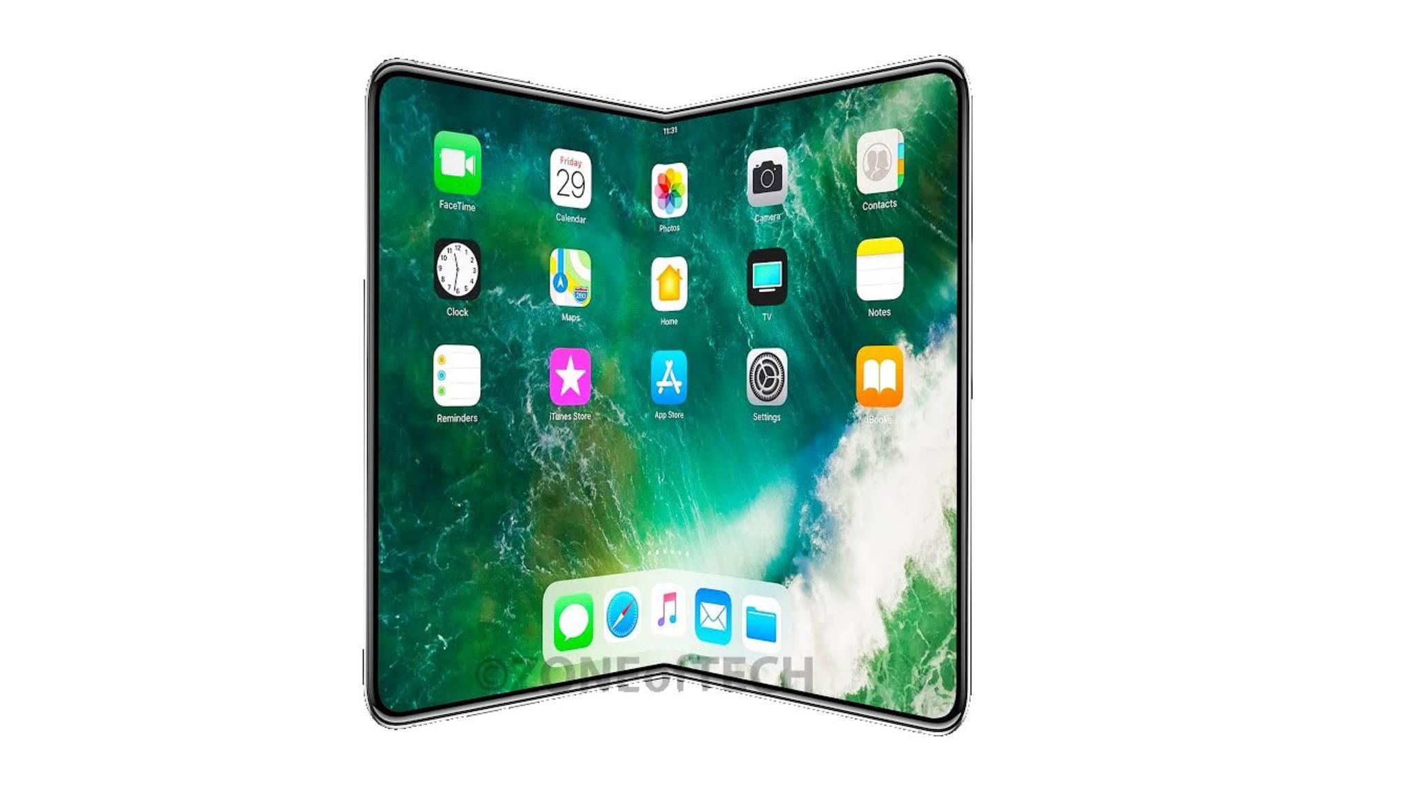 Arbeitet Apple tatsächlich an einem faltbaren iPhone?