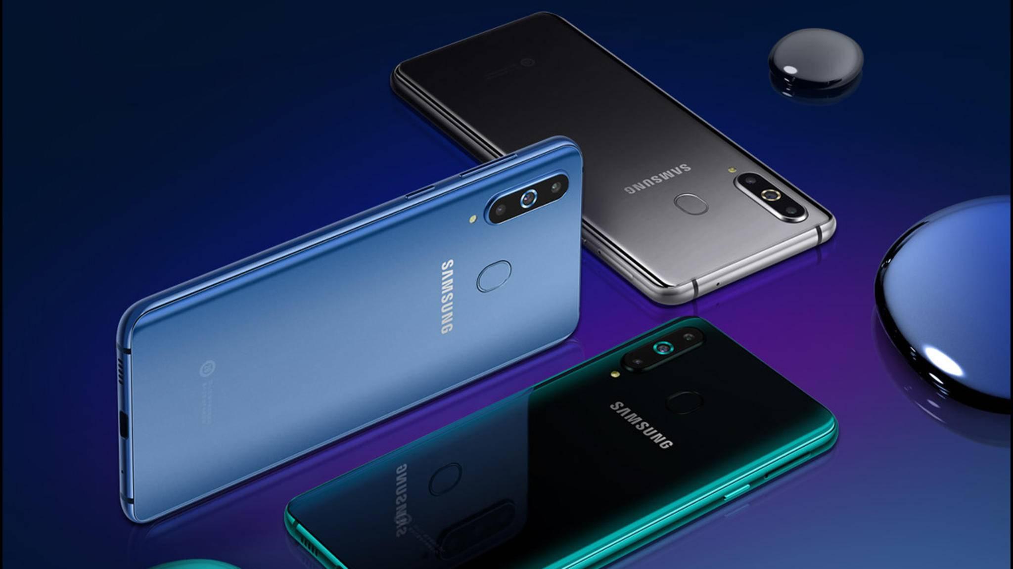 In China hat Samsung das Galaxy A8s offiziell enthüllt.