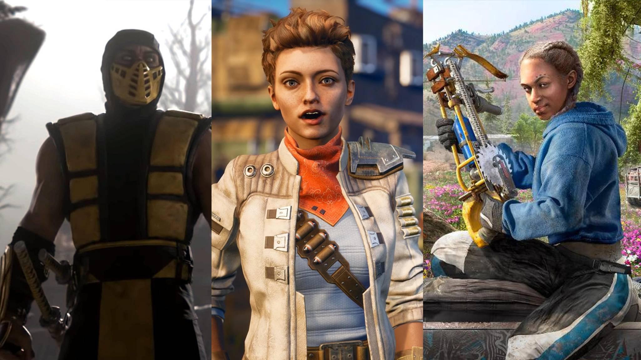 """""""Mortal Kombat"""" kehrt zurück, Obsidian bringt ein neues Rollenspiel, """"Far Cry"""" wird postapokalyptisch – und das ist noch längst nicht alles."""