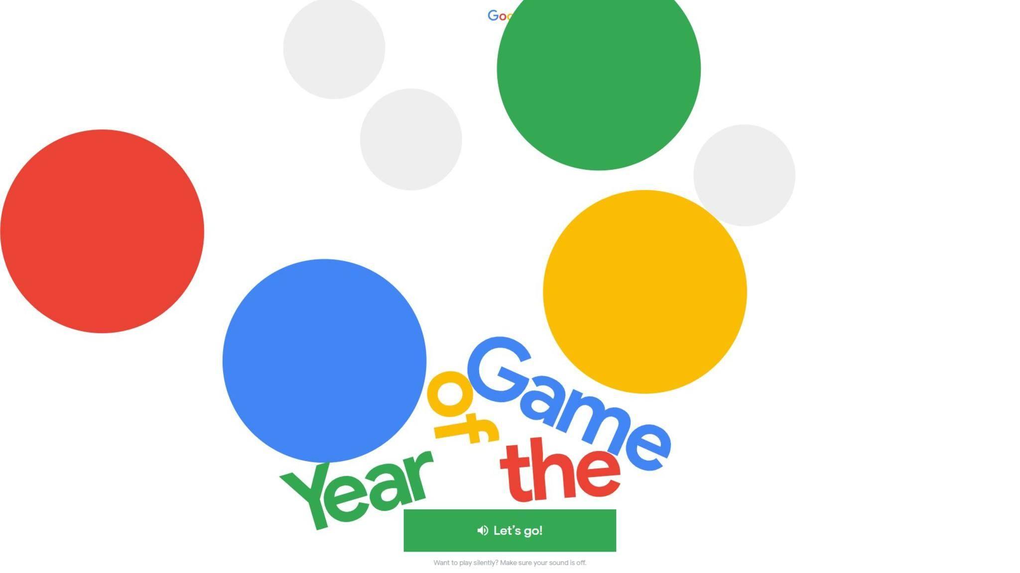 """Im """"Game of the Year"""" kannst Du Dein Wissen zu den Google-Suchtrends 2018 testen."""