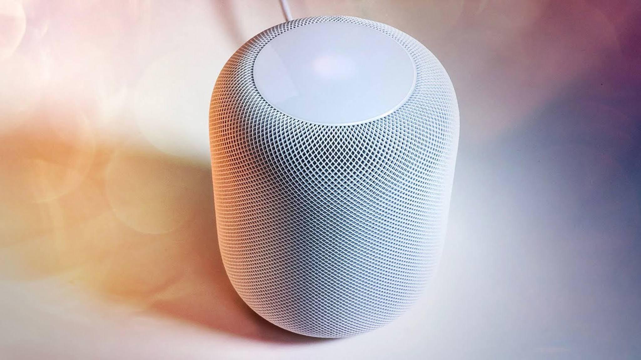 Siri ist unter anderem auf dem Apple HomePod zu Hause.