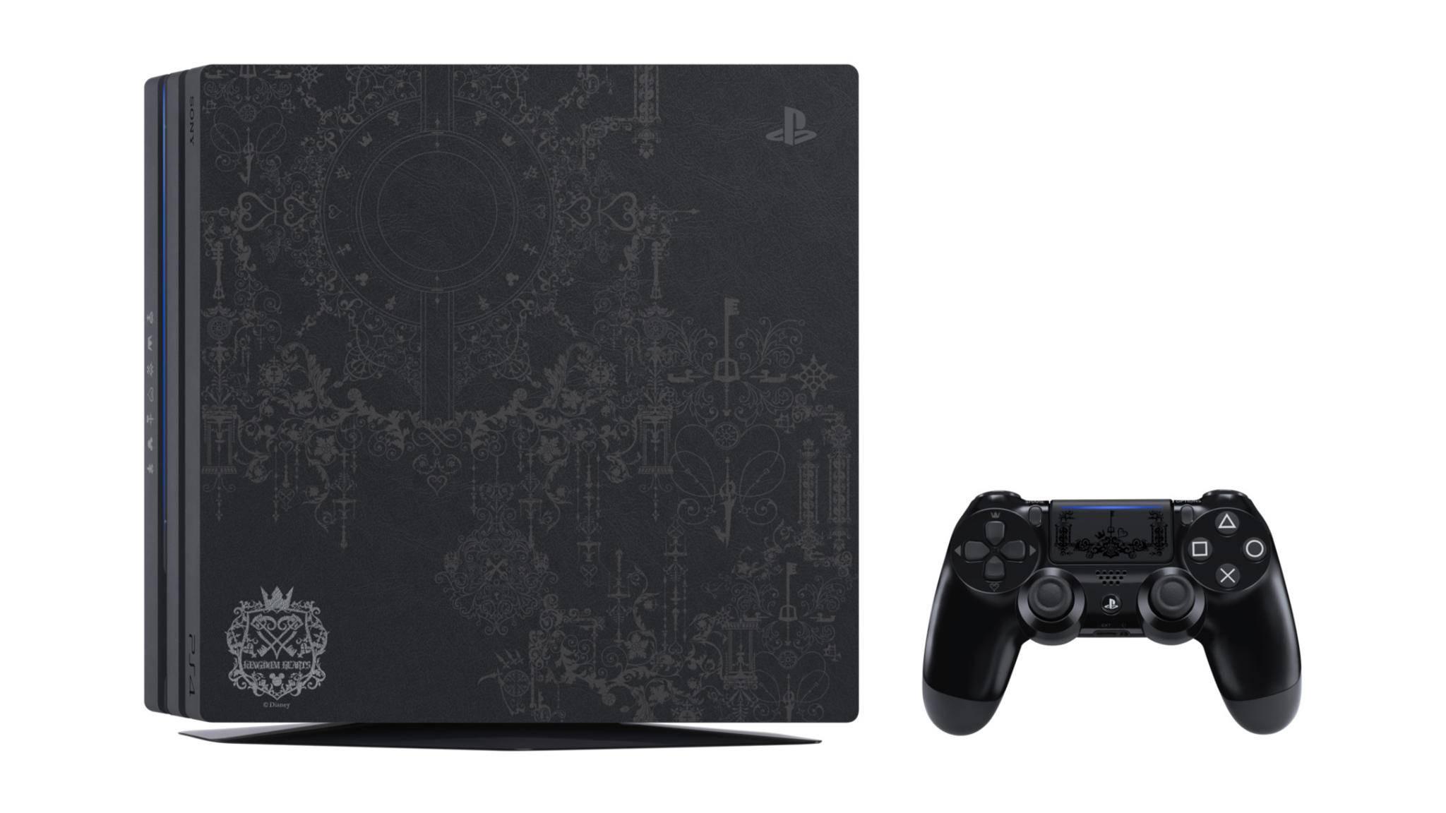 """Sieht gut aus: die PS4 Pro im """"Kingdom Hearts 3""""-Design."""