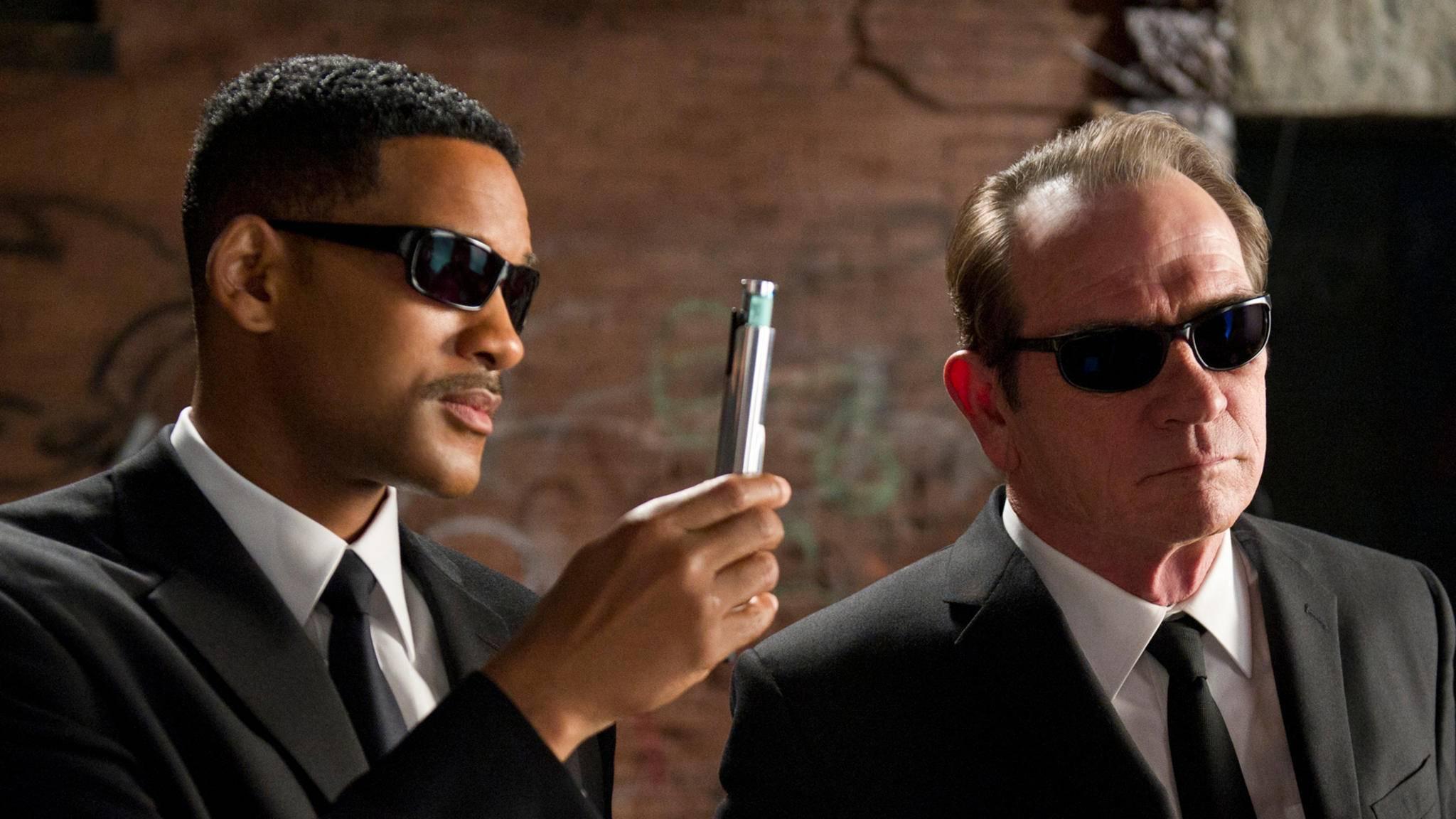 """Häh, wie war der Titel für """"Men in Black 4"""" jetzt noch mal?"""