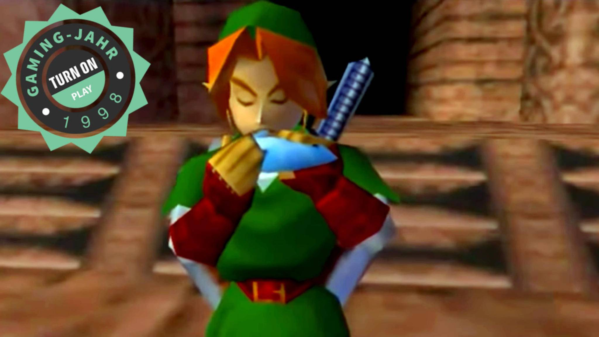 Link und seine Okarina waren die Stars in einem von vielen Spieleklassikern des Jahres 1998.