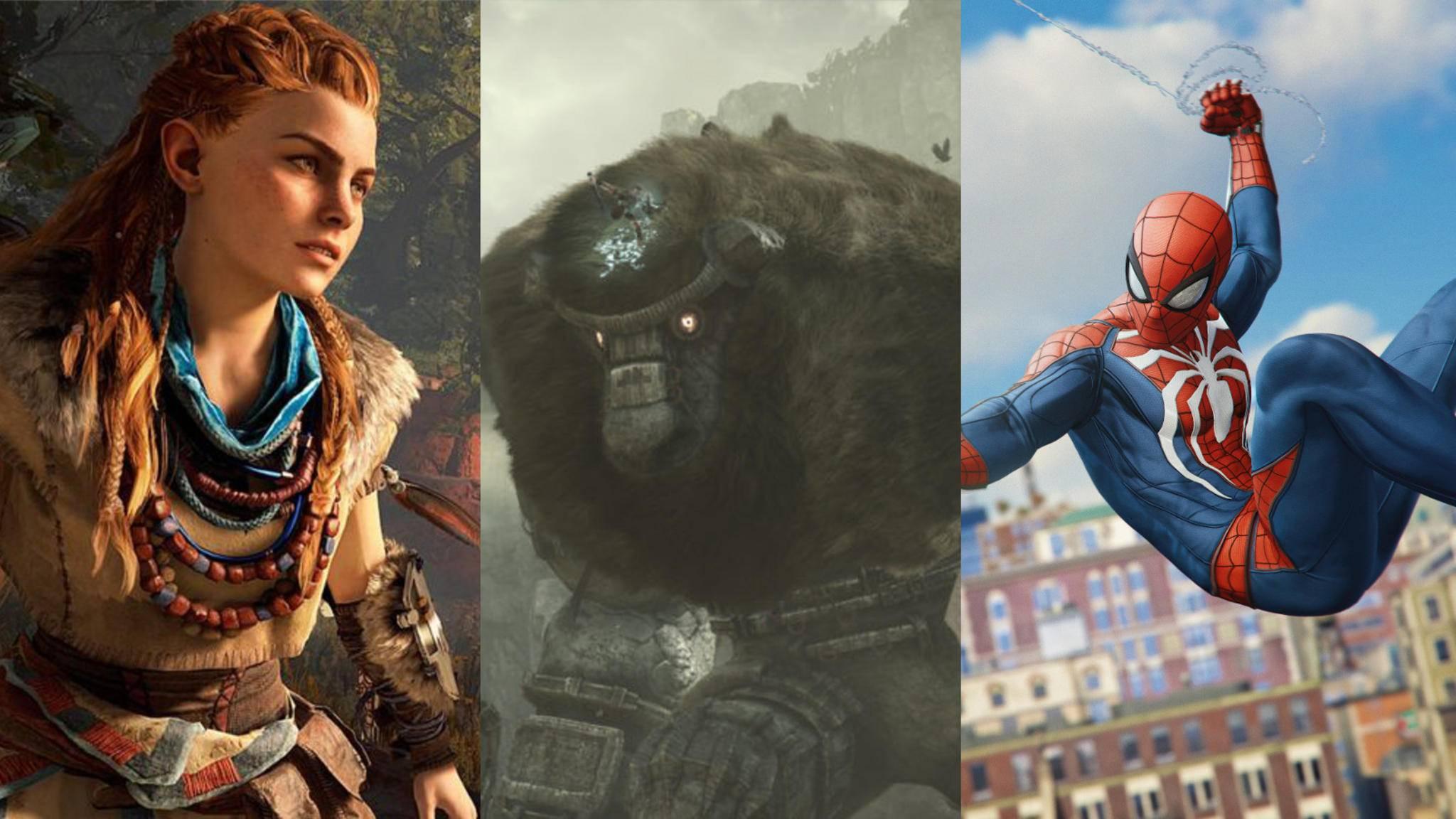 Im Line-up der PS4 gibt's gute Games für alle Altersklassen.