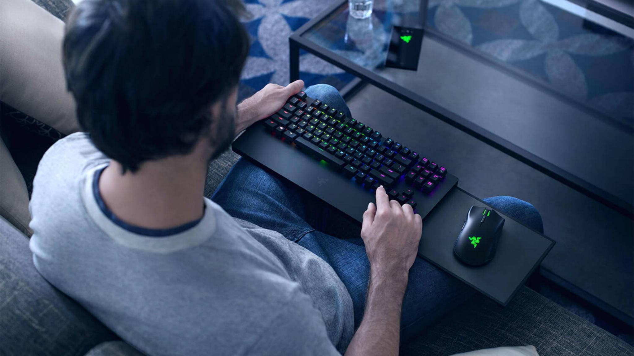 Razer versorgt die Xbox One mit der ersten offiziellen Tastatur-Maus-Kombi.