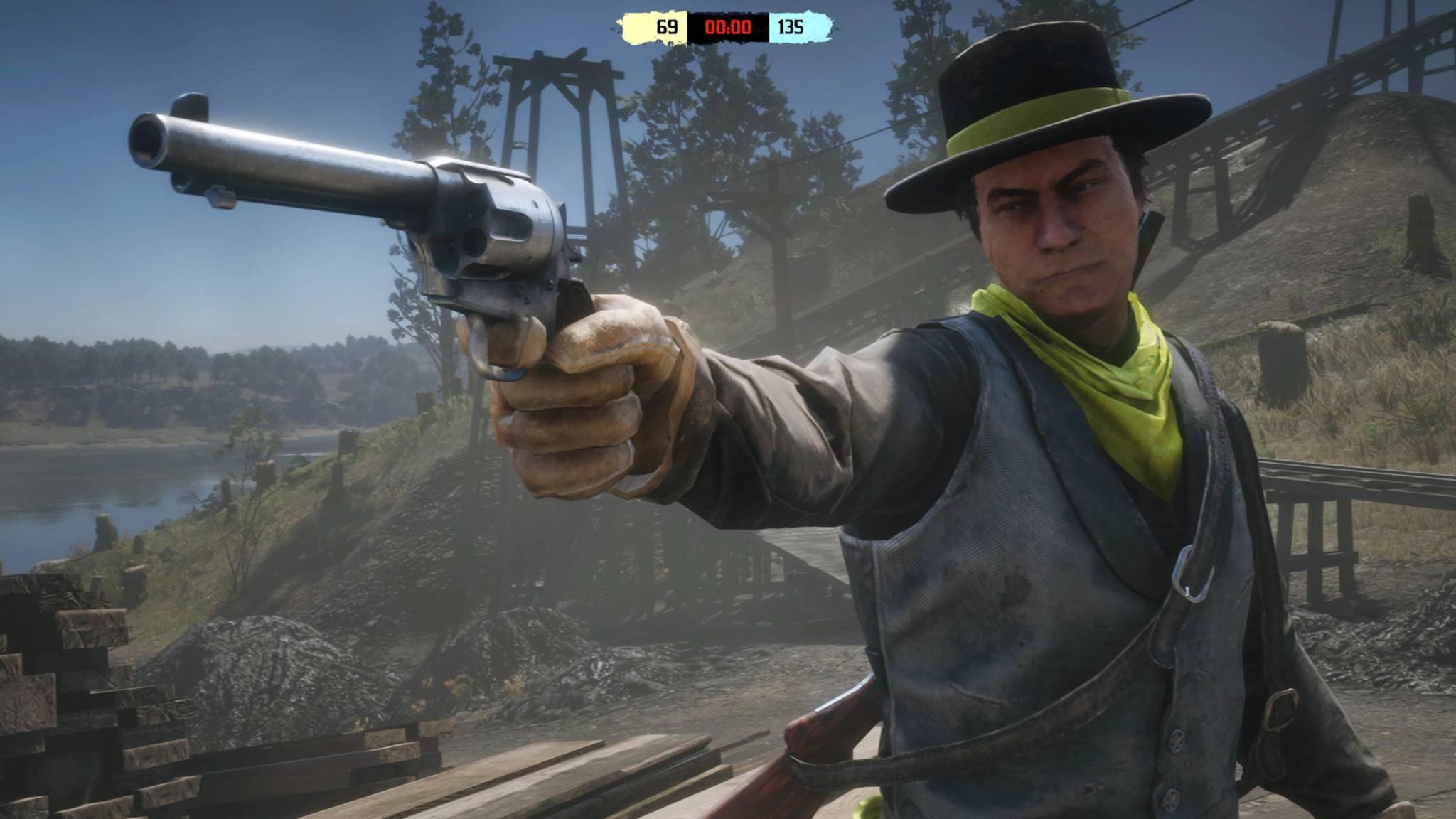 """Hände hoch, Geld her! Das Leben in """"Red Dead Online"""" ist teuer. Noch."""