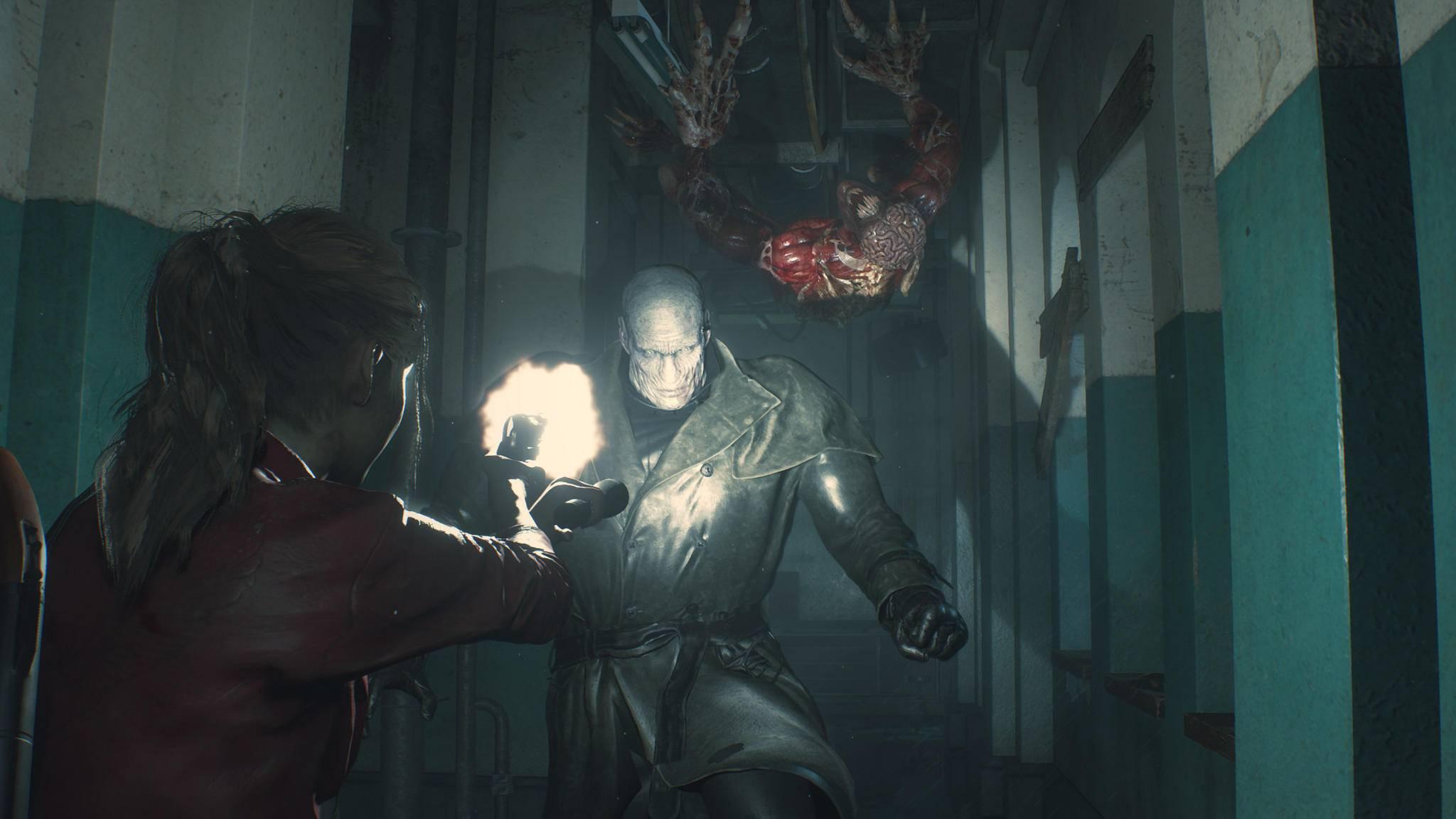 """Mr. X ist in """"Resident Evil 2"""" eine echte Nervensäge – mehr als im Original."""