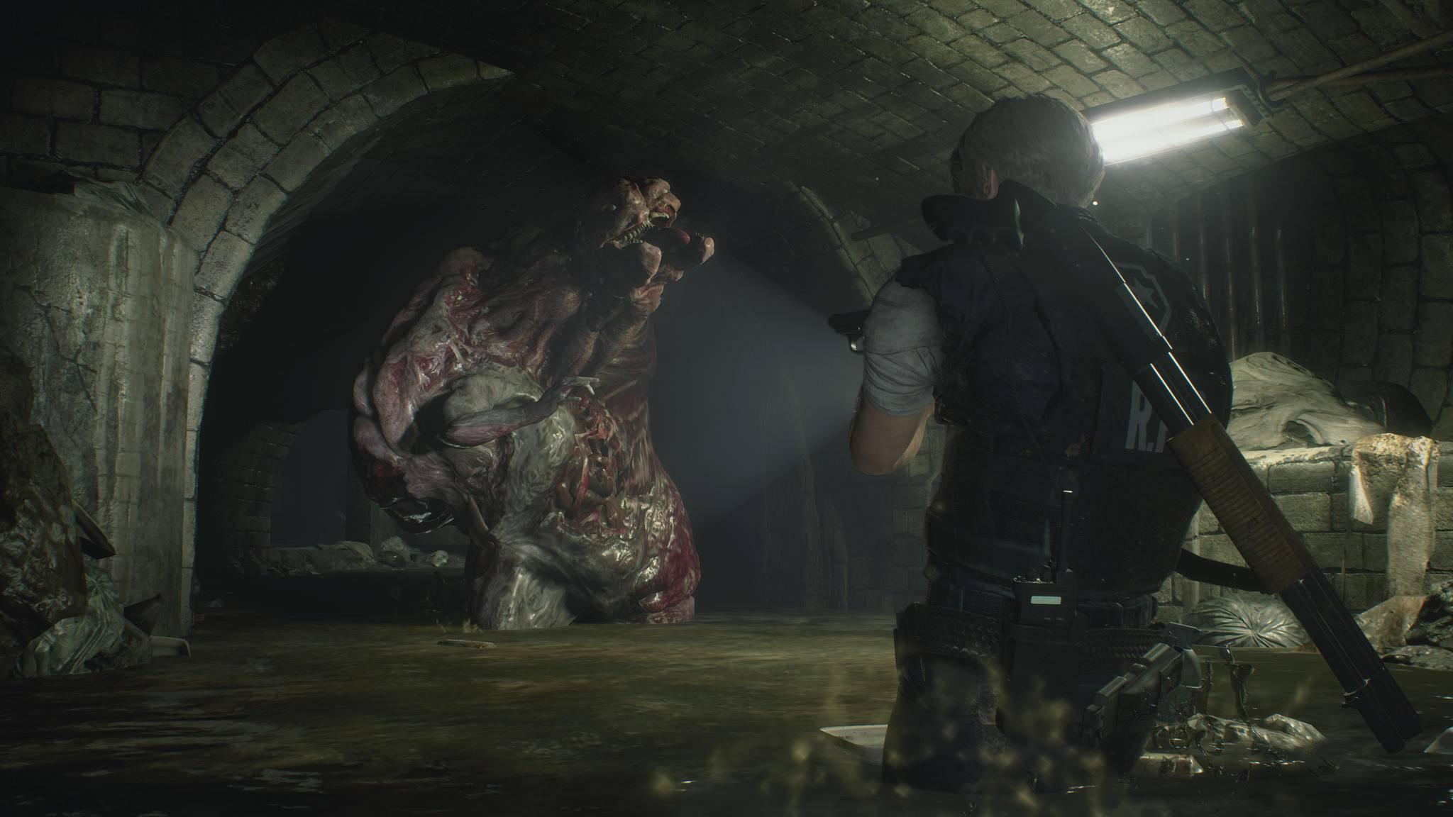 """""""Resident Evil 2"""" lädt vor Release offenbar zu kostenlosen Zielübungen ein."""