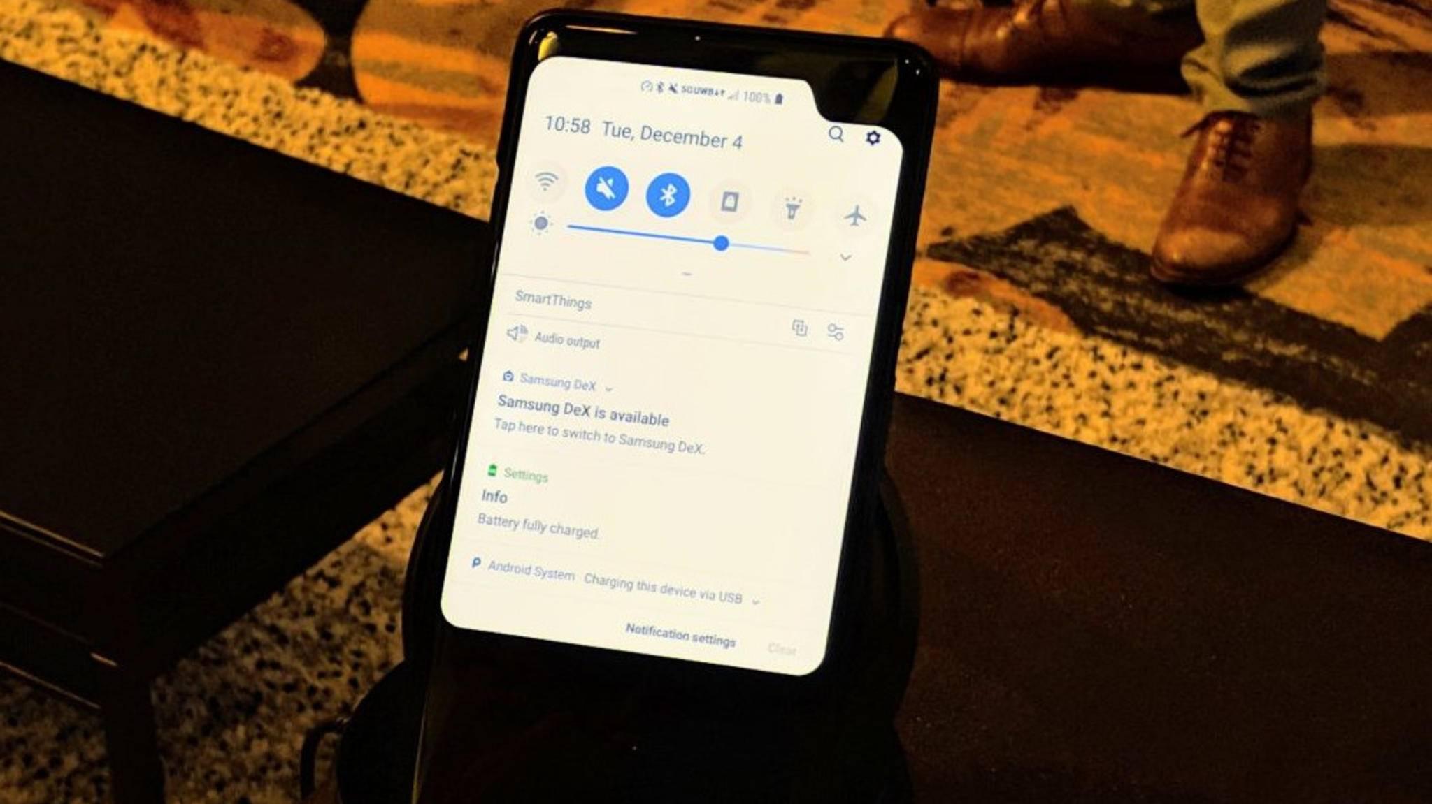 Auf der Qualcomm Tech Summit wurde der Prototyp eines 5G-Smartphones von Samsung gesichtet.