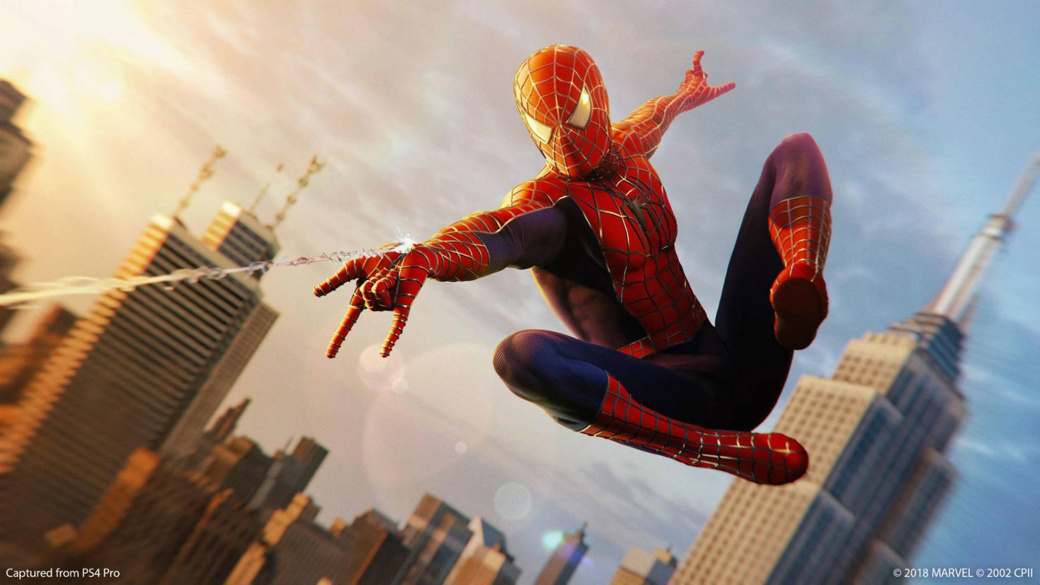 """""""Spider-Man"""" auf PS4: Ob sich das Internet diesen Anzug wirklich verdient hat?"""