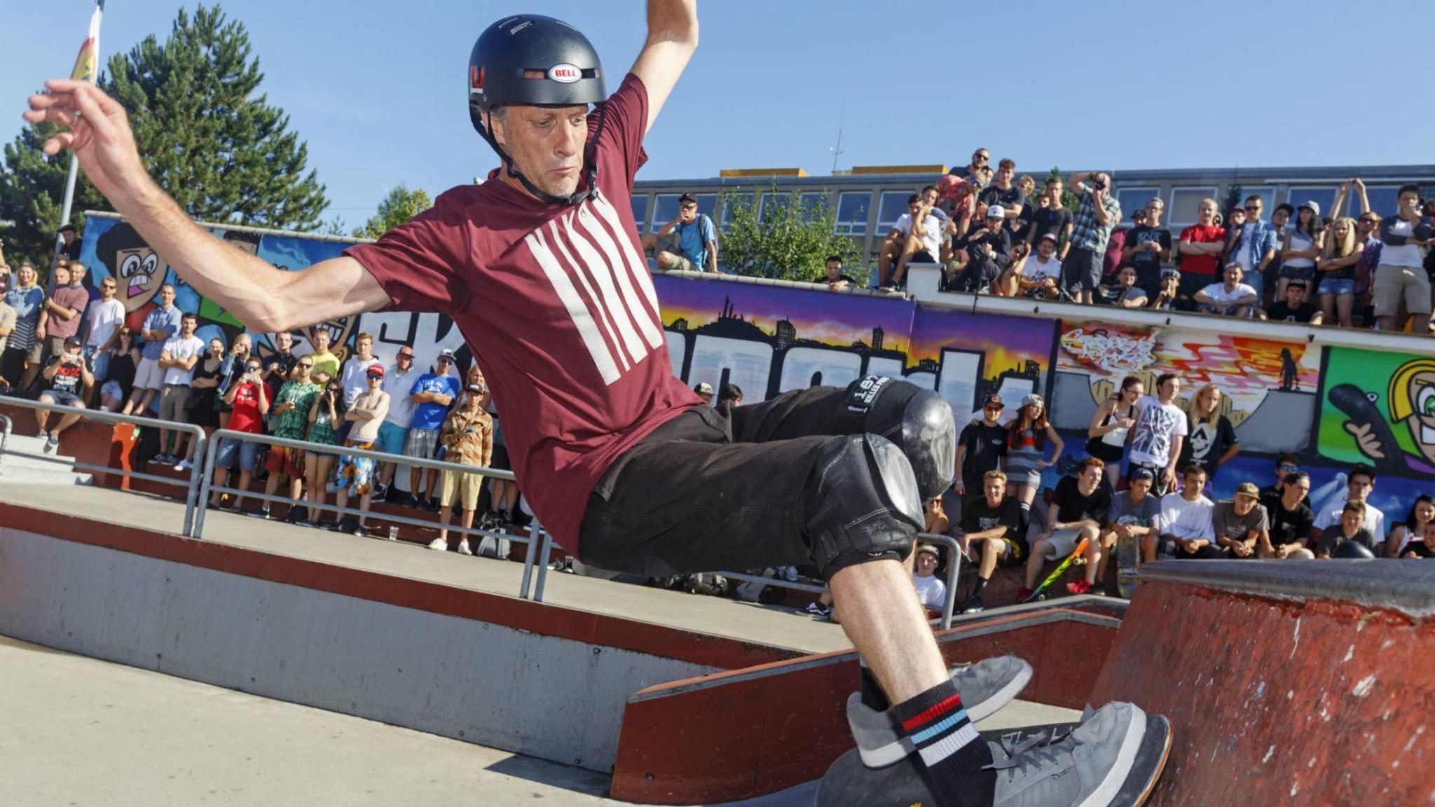 Skate-Legende Tony Hawk bringt ein neues Game auf den Markt – für Smartphones.