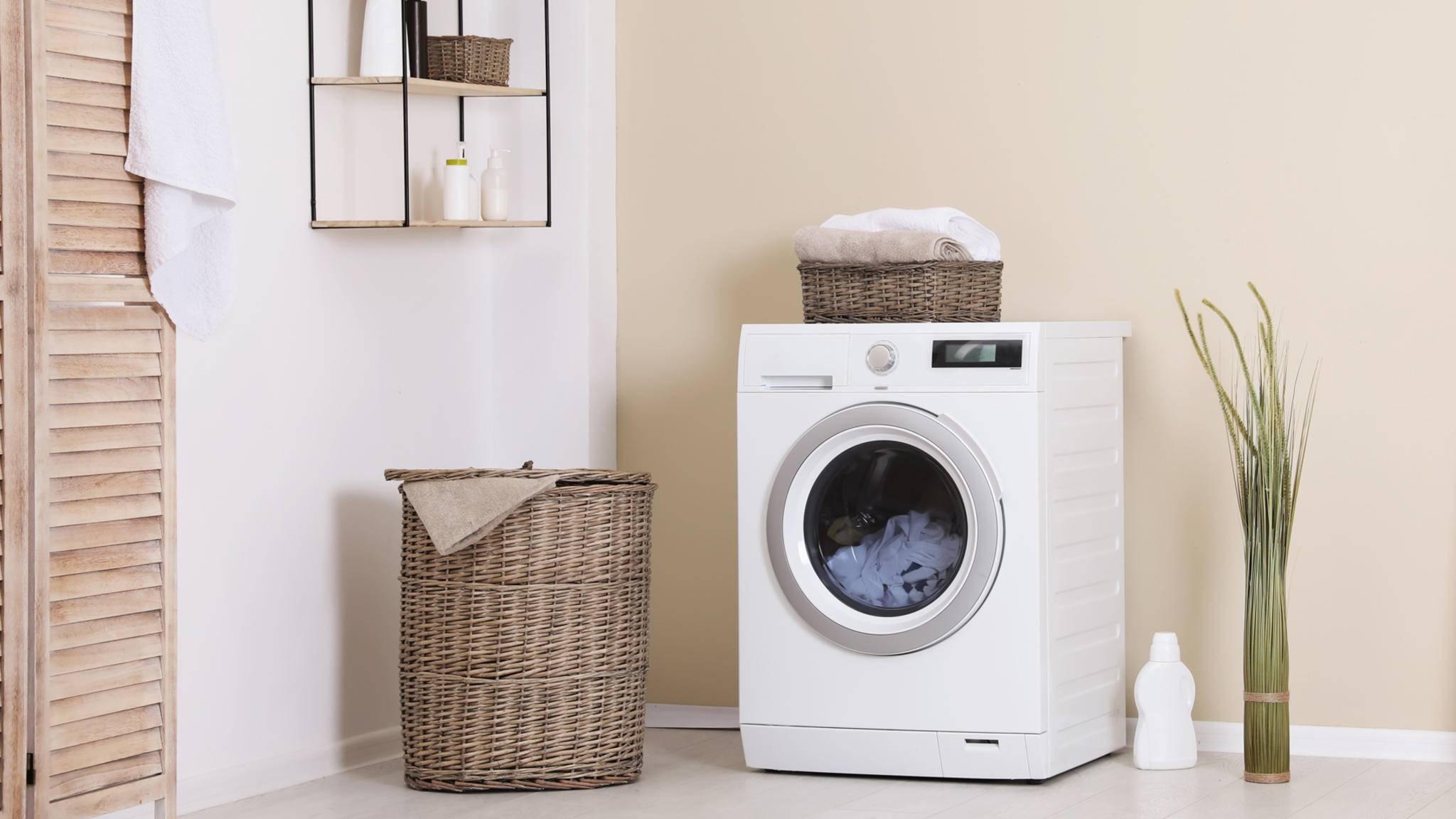 Badezimmer Waschmaschine