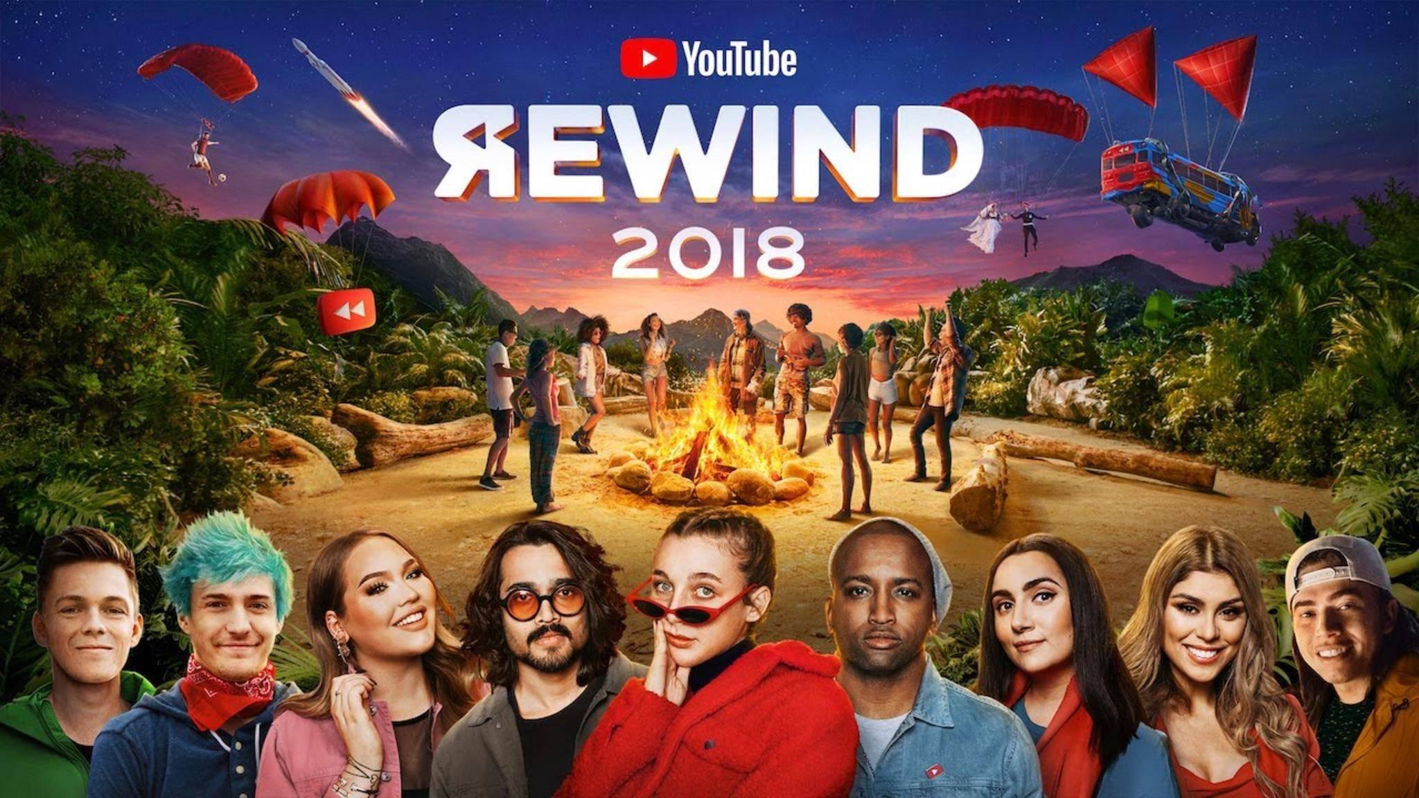 Auch YouTube selbst ist vom Rewind 2018 nicht begeistert.