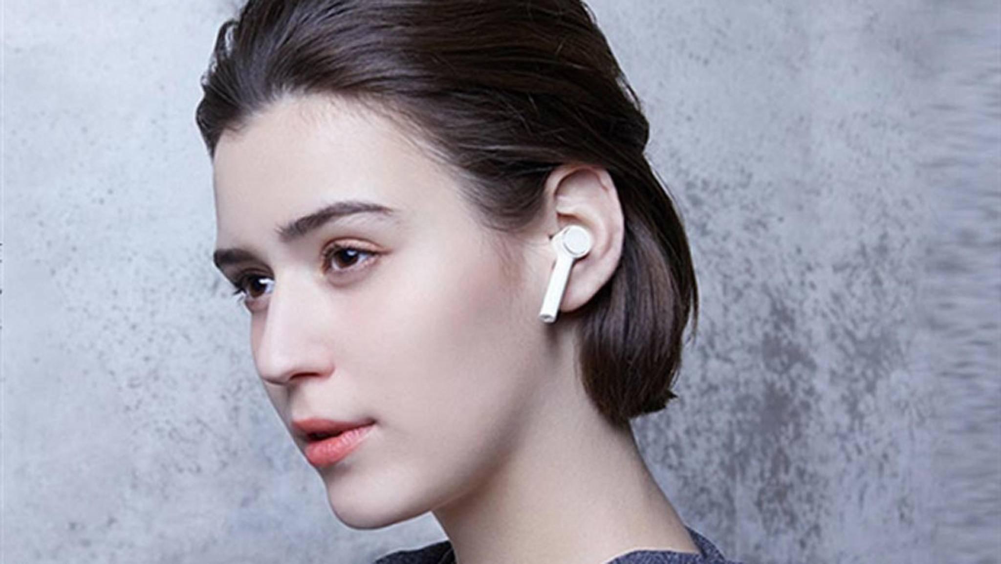 Xiaomi hat jetzt auch AirPods-ähnliche Kopfhörer im Angebot,