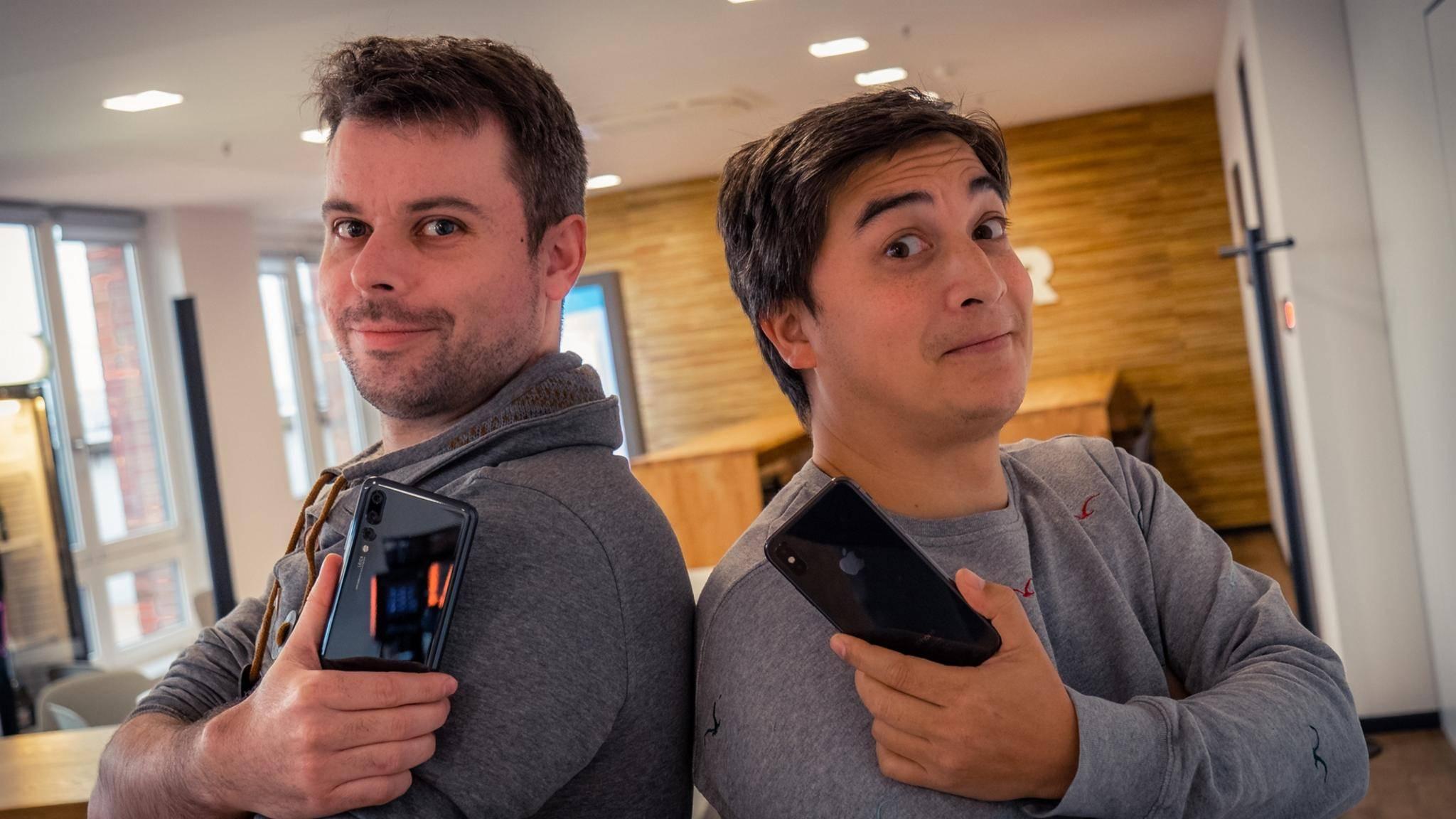 Patrick und Meru nutzen Mobile Payment bereits fleißig im Alltag.