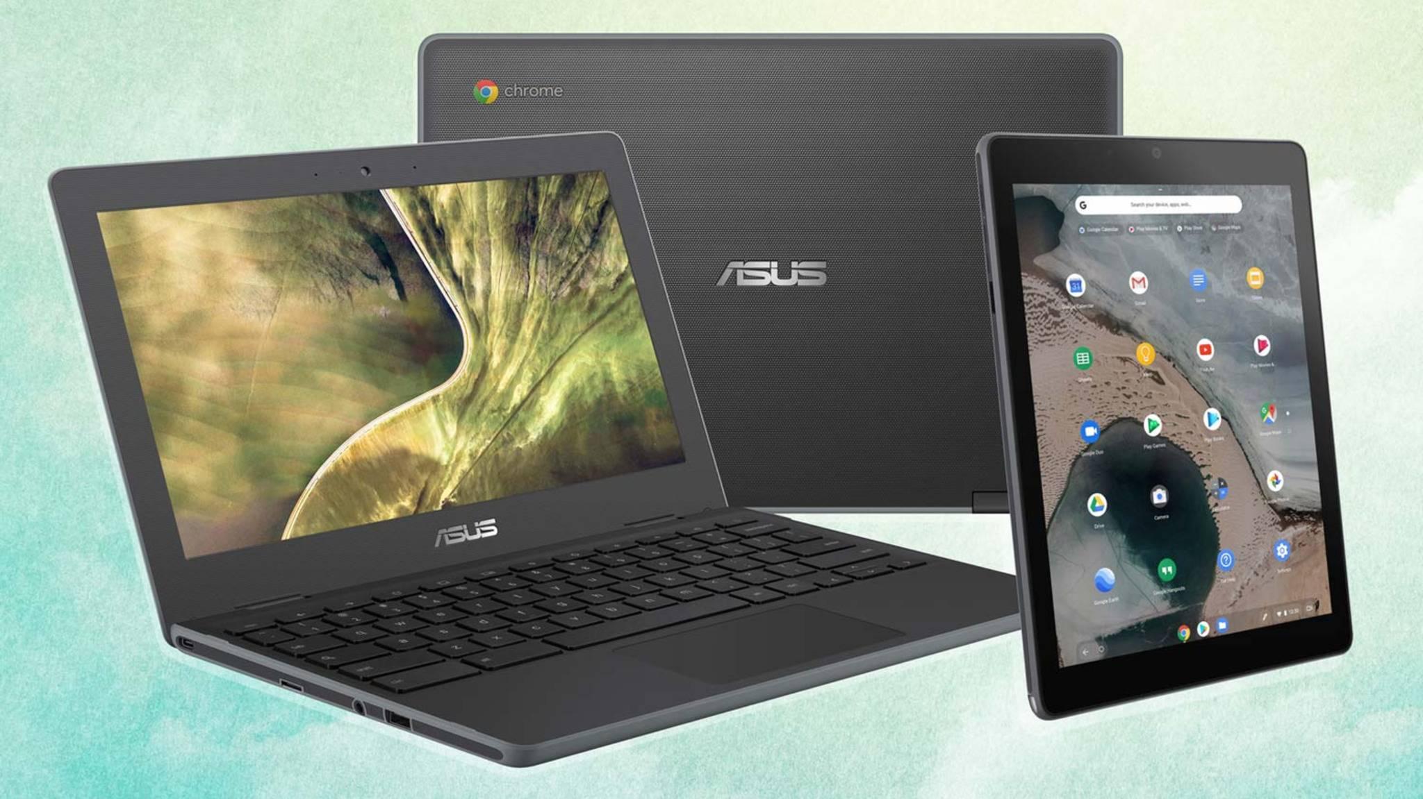 Auf der CES 2019 zeigt Asus unter anderem zwei Laptops und ein Tablet mit Chrome OS.