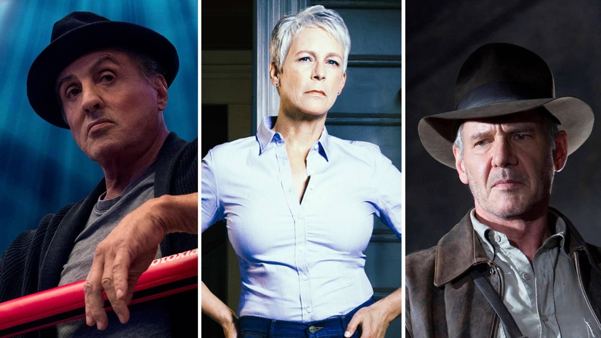 Ob Rocky Balboa, Laurie Strode oder Indiana Jones: Einige Alter Egos werden von ihren Darstellern immer wieder auf die Leinwand zurückgeholt.
