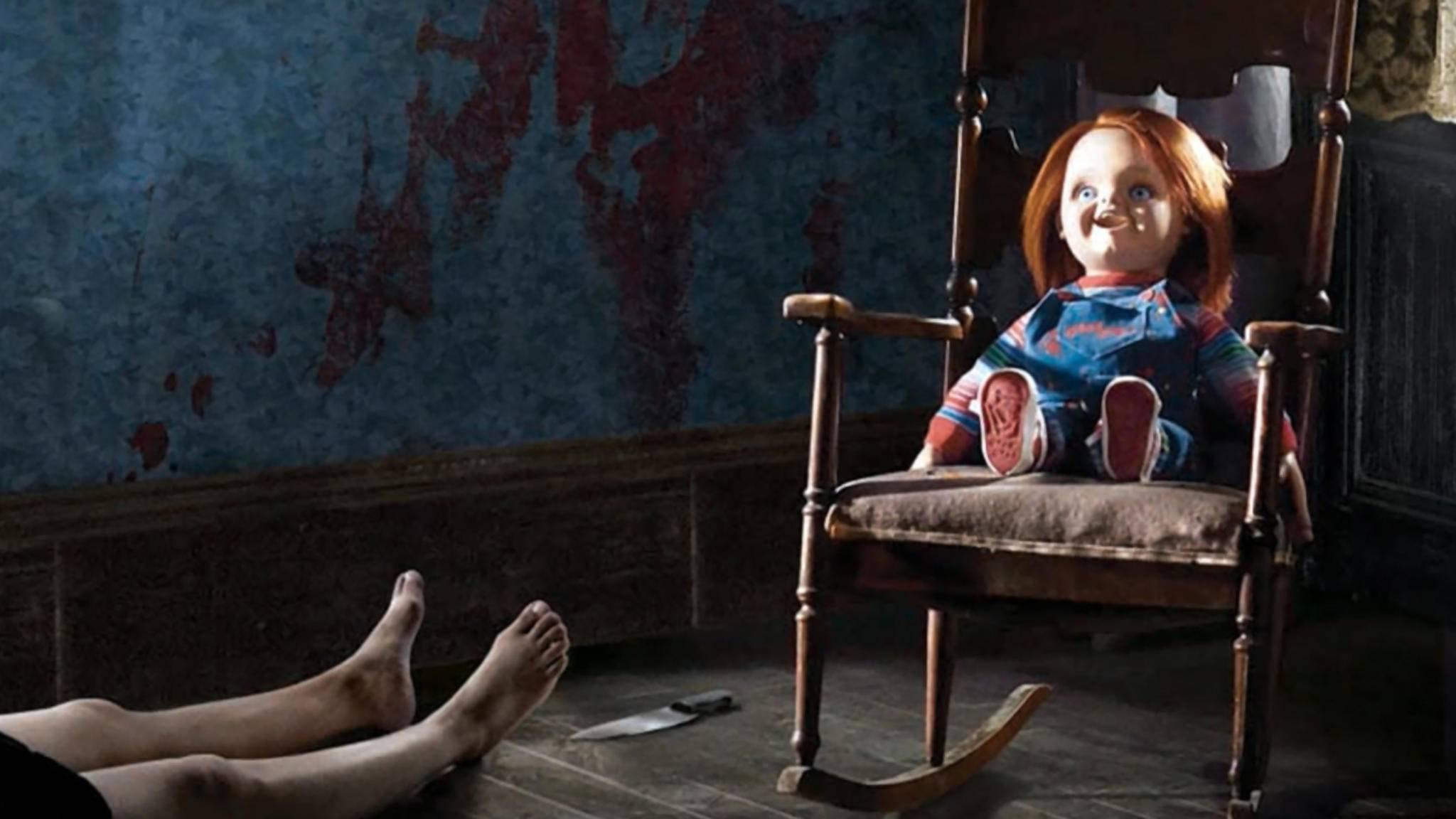 Chucky treibt künftig auch im TV seine blutigen Spielchen.