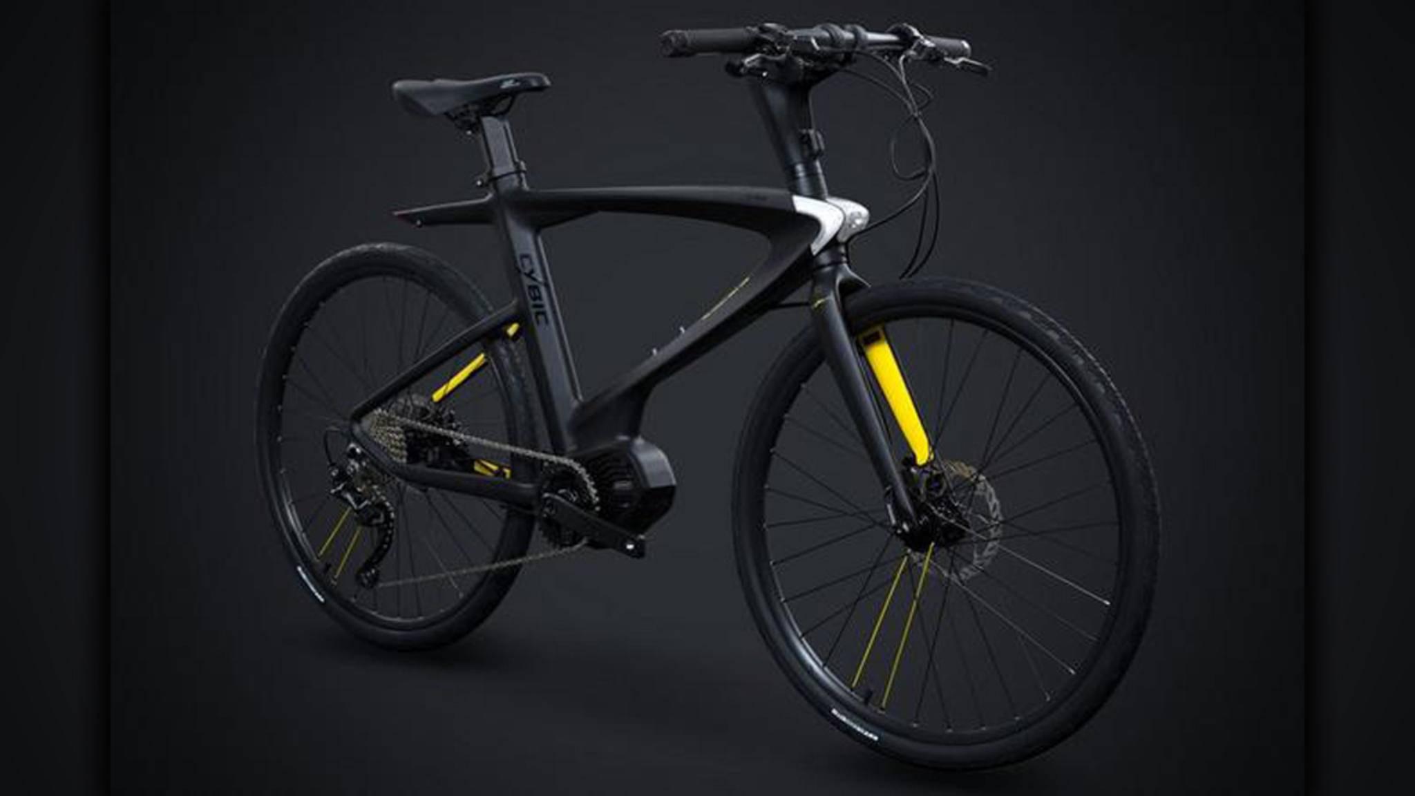 Das Bike von Cybic ist nicht nur ziemlich smart, sondern sieht auch noch gut aus.