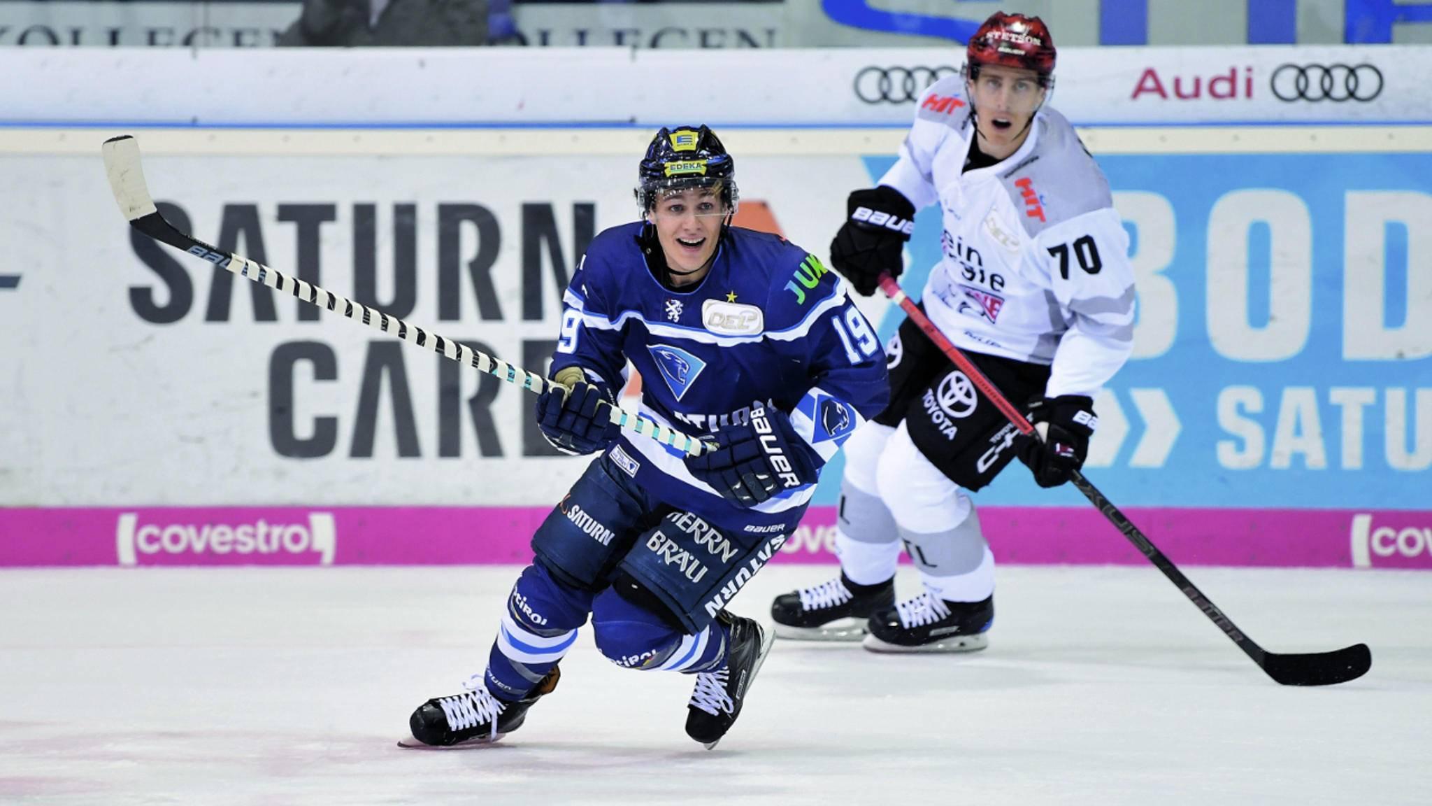 Tyler Kelleher kam im Juni 2018 aus der AHL, der zweithöchsten Nordamerikanischen Liga, nach Ingolstadt.