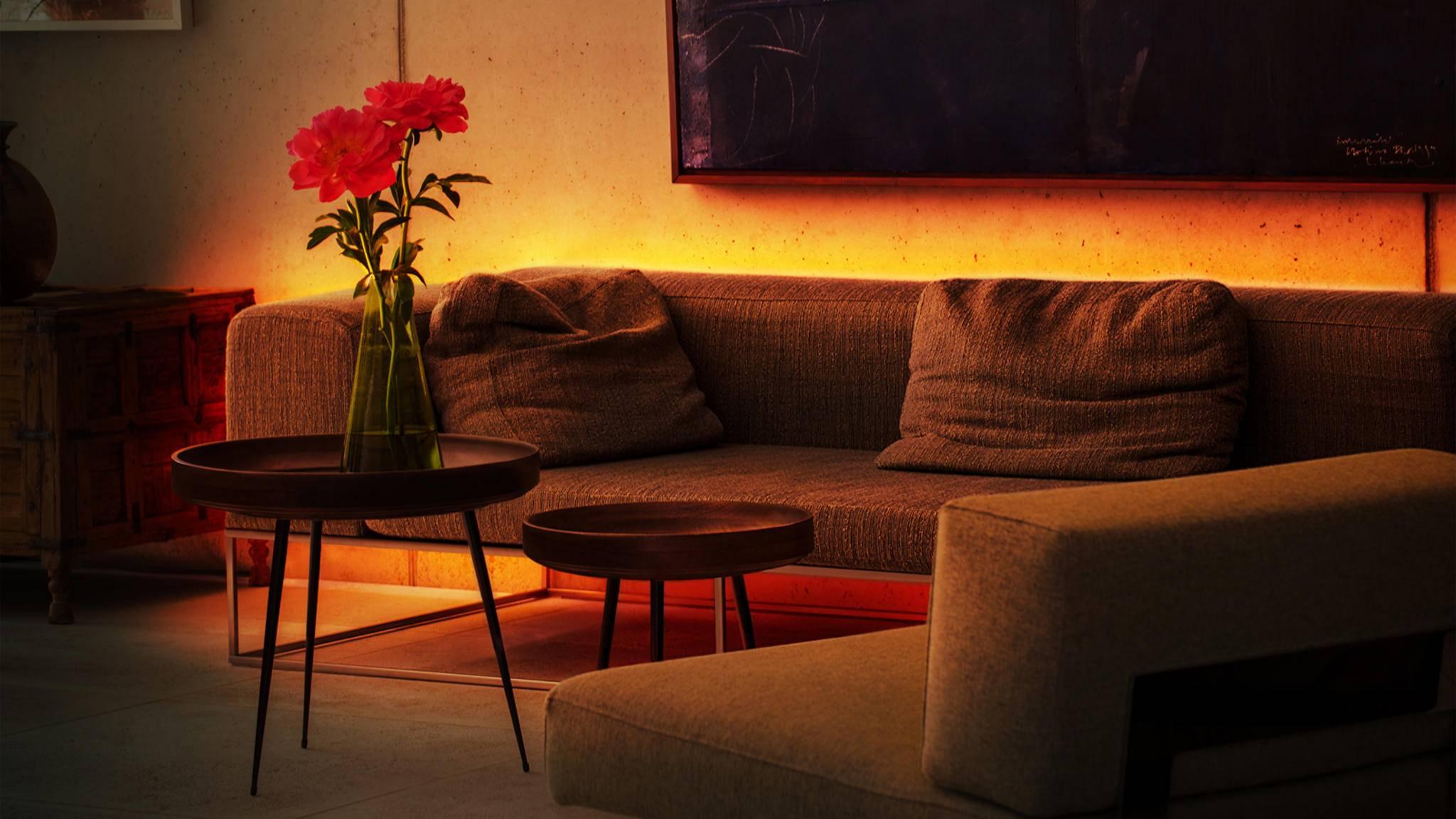 Der Light Strip von Eve sorgt für dezente Beleuchtung in den vier Wänden.
