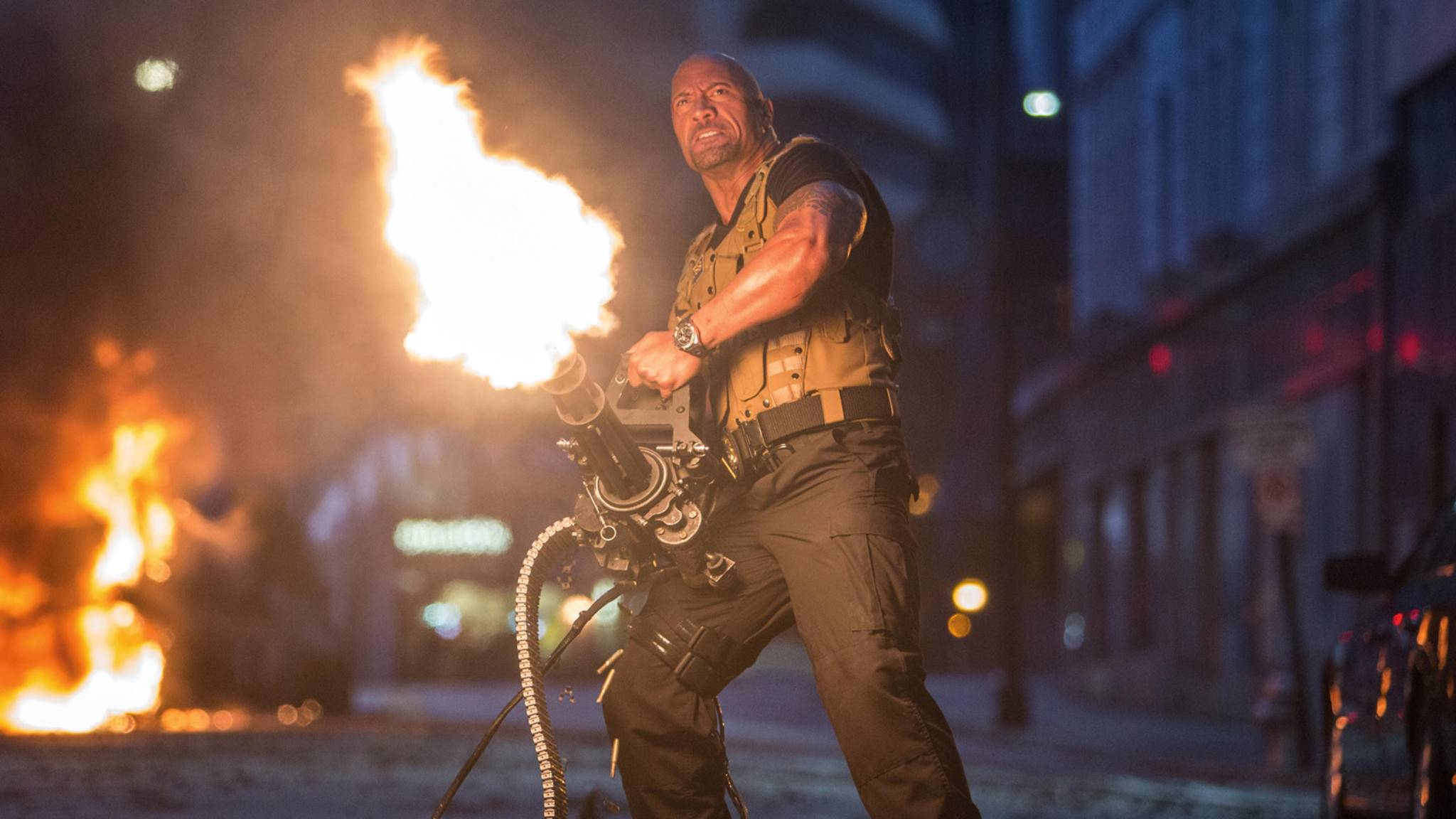"""Feuer frei! Am Freitag gibt's endlich den """"Hobbs and Shaw""""-Trailer zu sehen."""