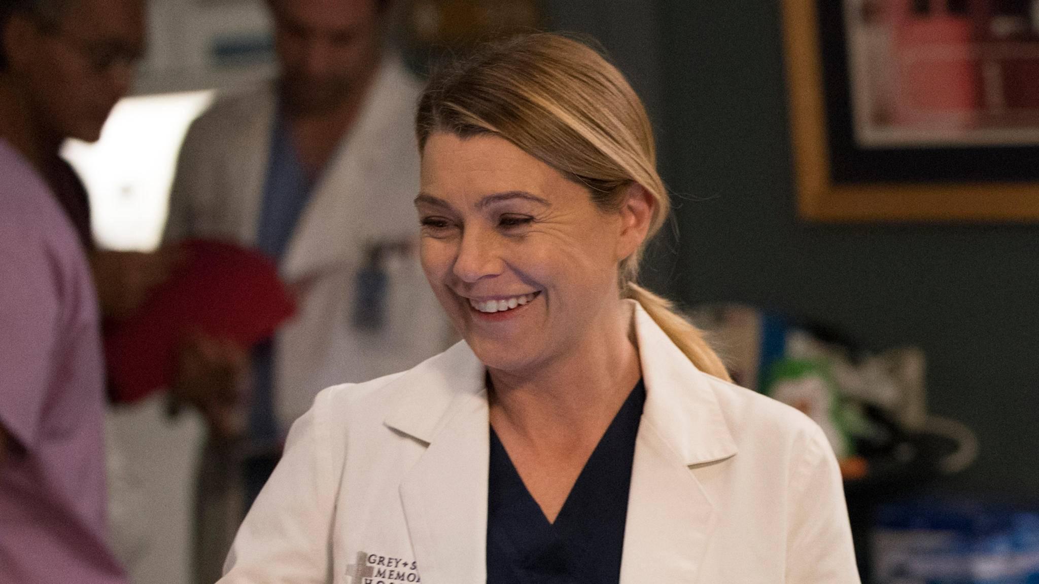 """Meredith (Ellen Pompeo) darf sich freuen: Staffel 15 von """"Grey's Anatomy"""" wird um einige Episoden aufgestockt."""