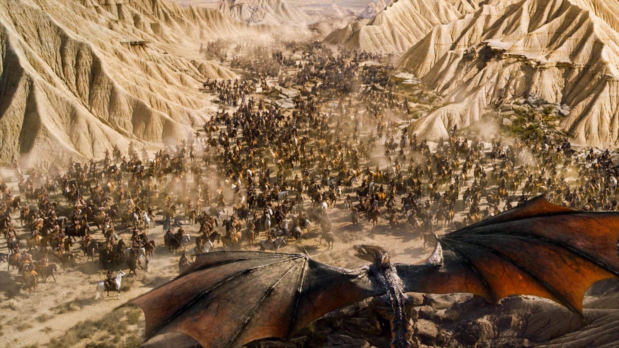 Die Dothraki sind ein wildes Reitervolk.
