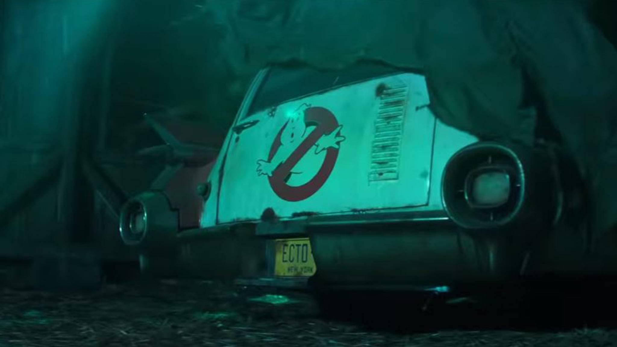 """Der Ecto-1 macht sich abfahrbereit: Im Juli 2020 startet """"Ghostbusters 3"""" in den Kinos durch."""