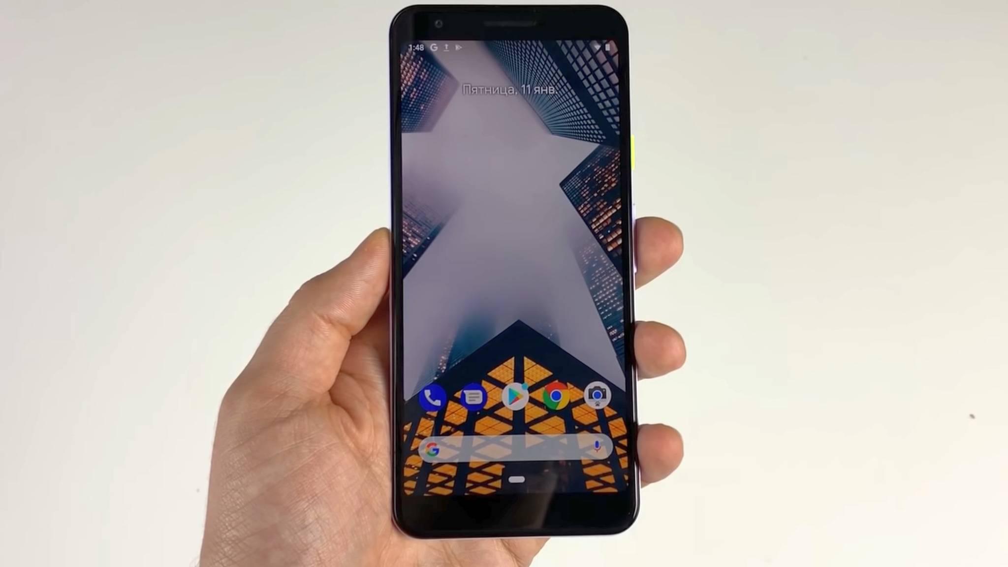 Hier ist angeblich das Google Pixel 3 Lite zu sehen.