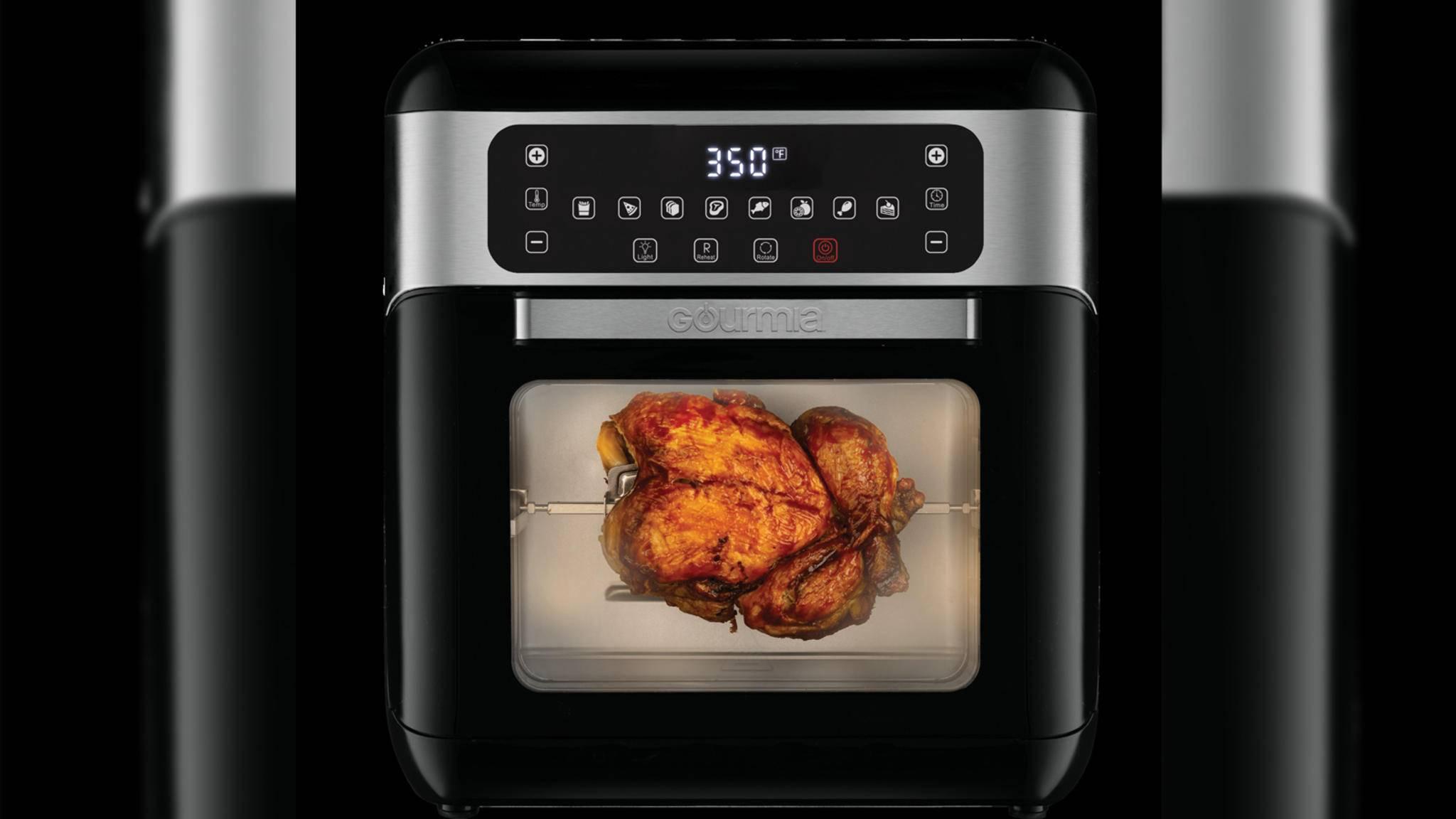 Der GAF678 All-in-one-Airfryer ist eines von drei neuen Küchengeräten, die Gourmia auf der CES 2019 vorstellt.