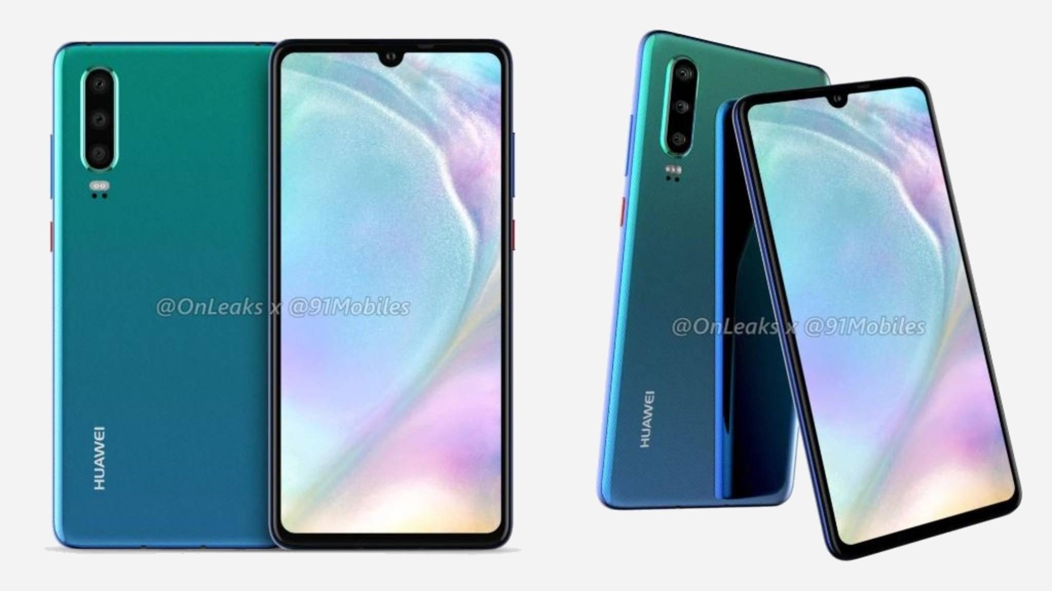 Huawei ruft zum Preiskampf auf: Die P30-Modelle kosten deutlich weniger als die vergleichbaren Smartphones von Samsung.