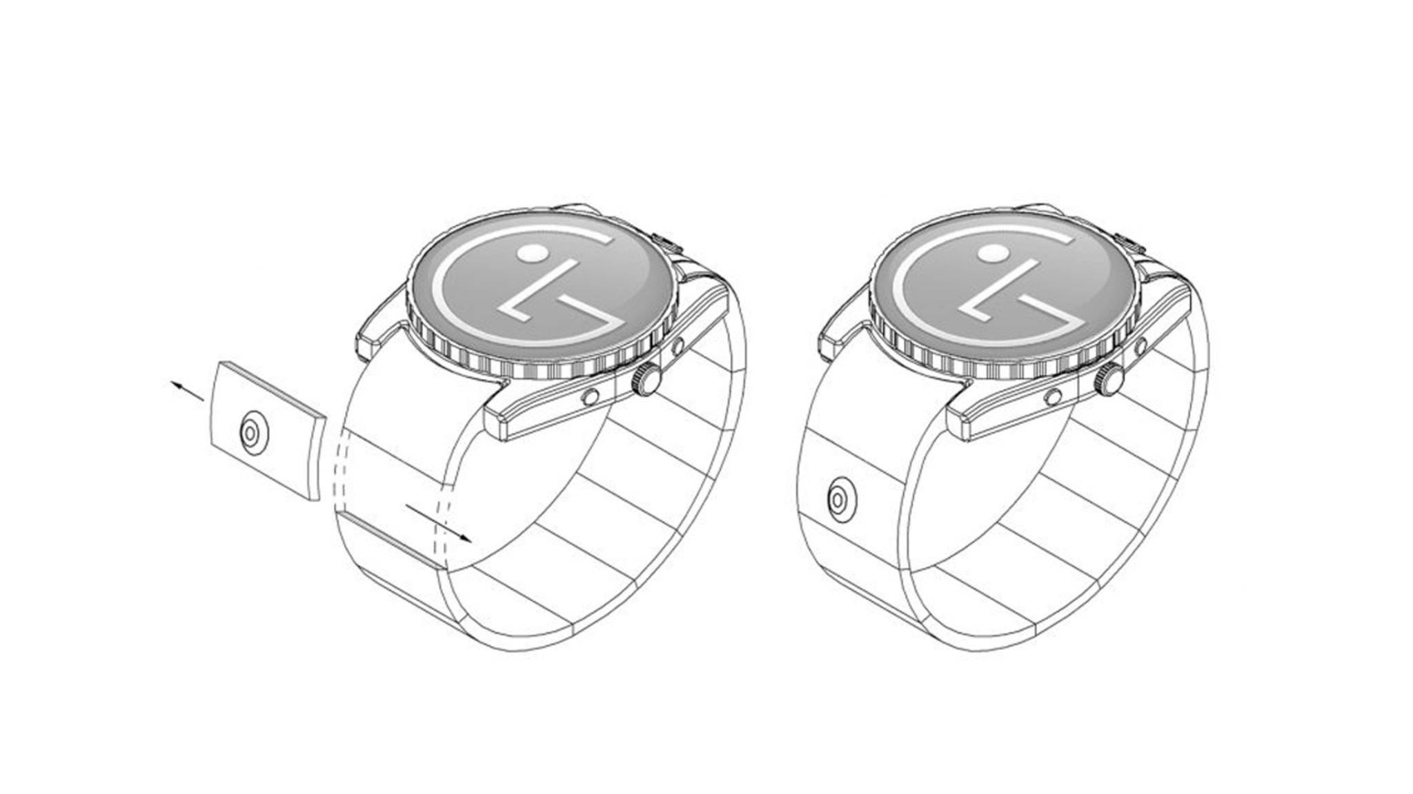 Die nächste Smartwatch von LG könnte eine Kamera an Bord haben.
