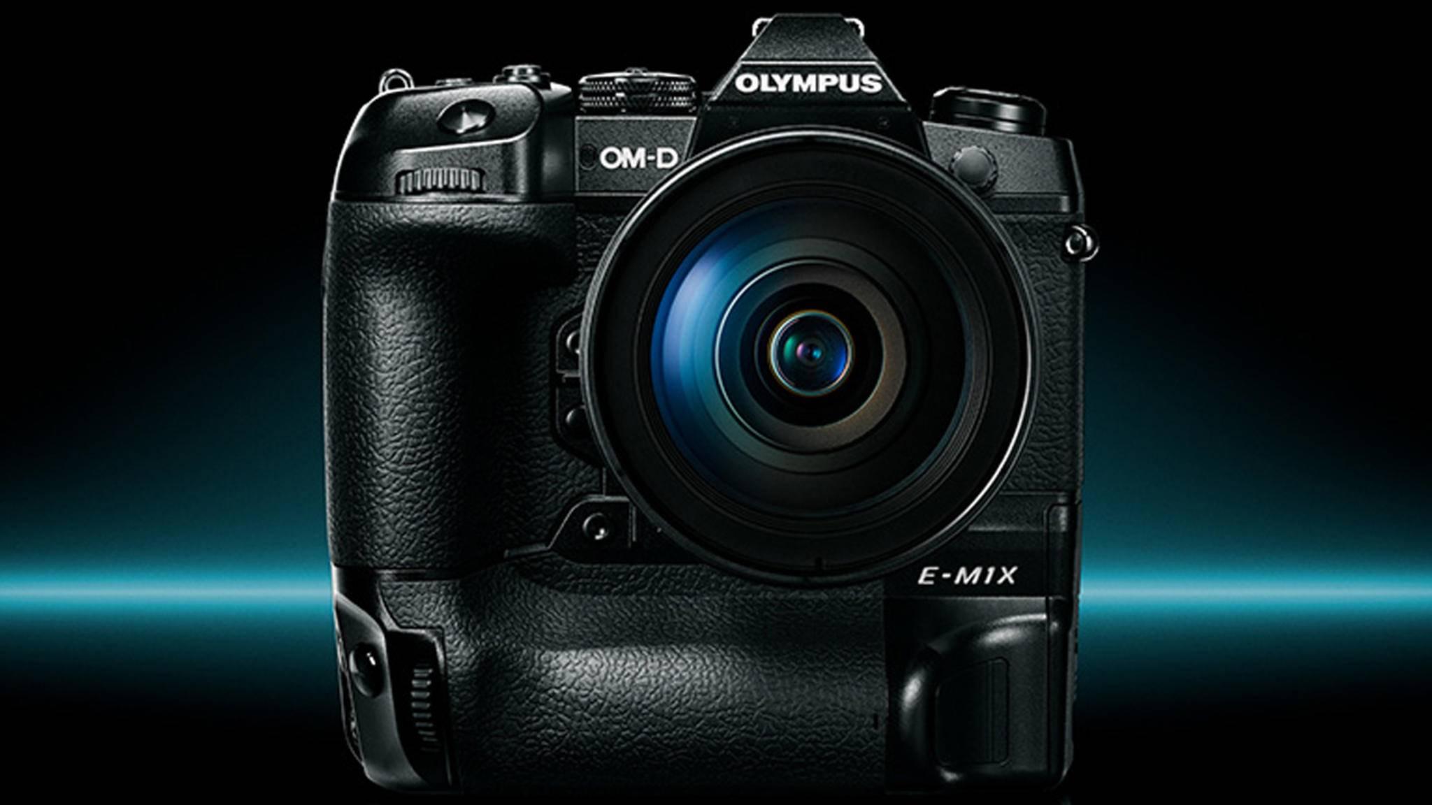 Olympus hat eine neue Profi-Kamera vorgestellt: die OM-D E-M1X.