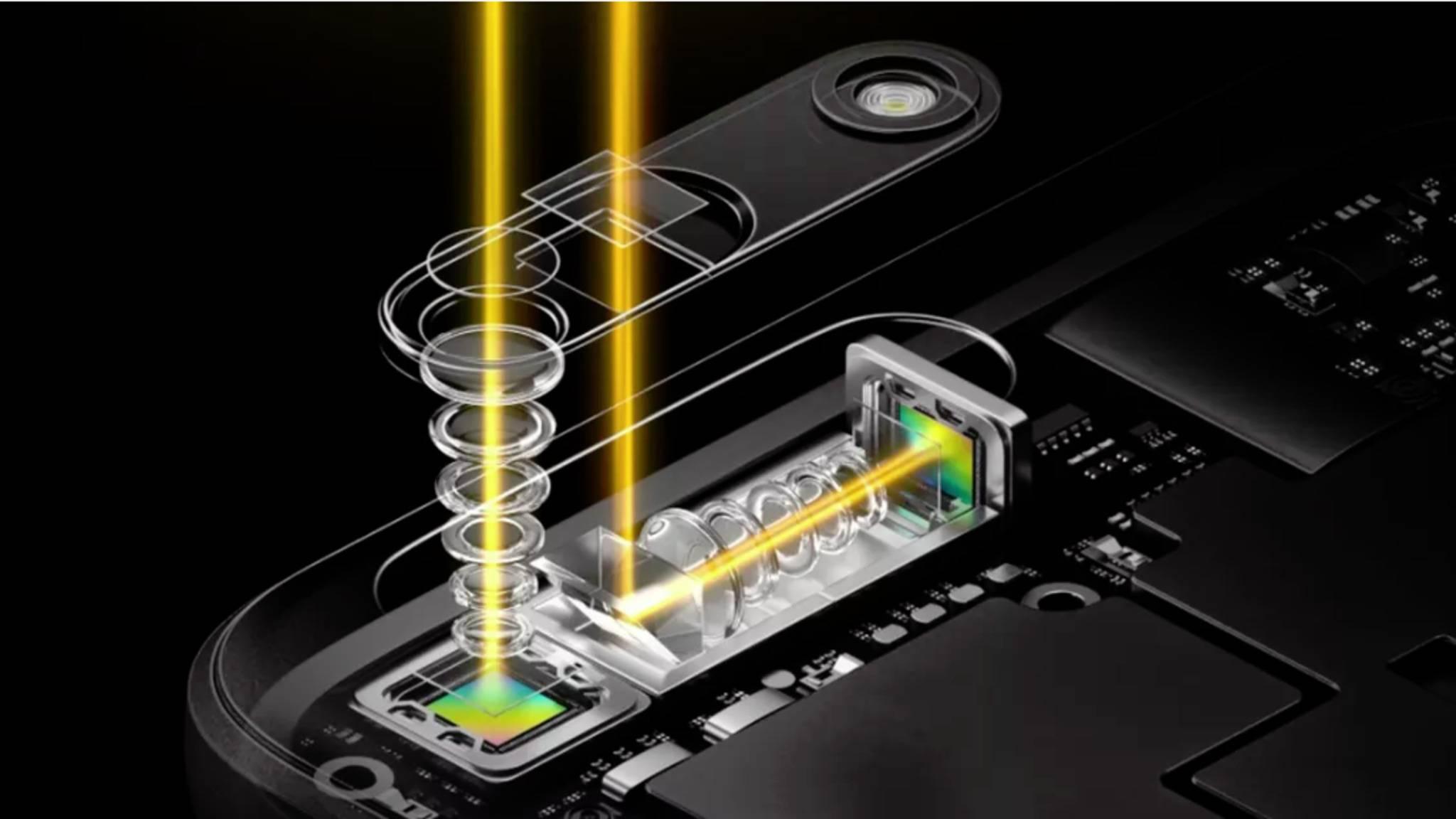 Oppos 5-facher Zoom für Smartphones kam nie auf den Markt.