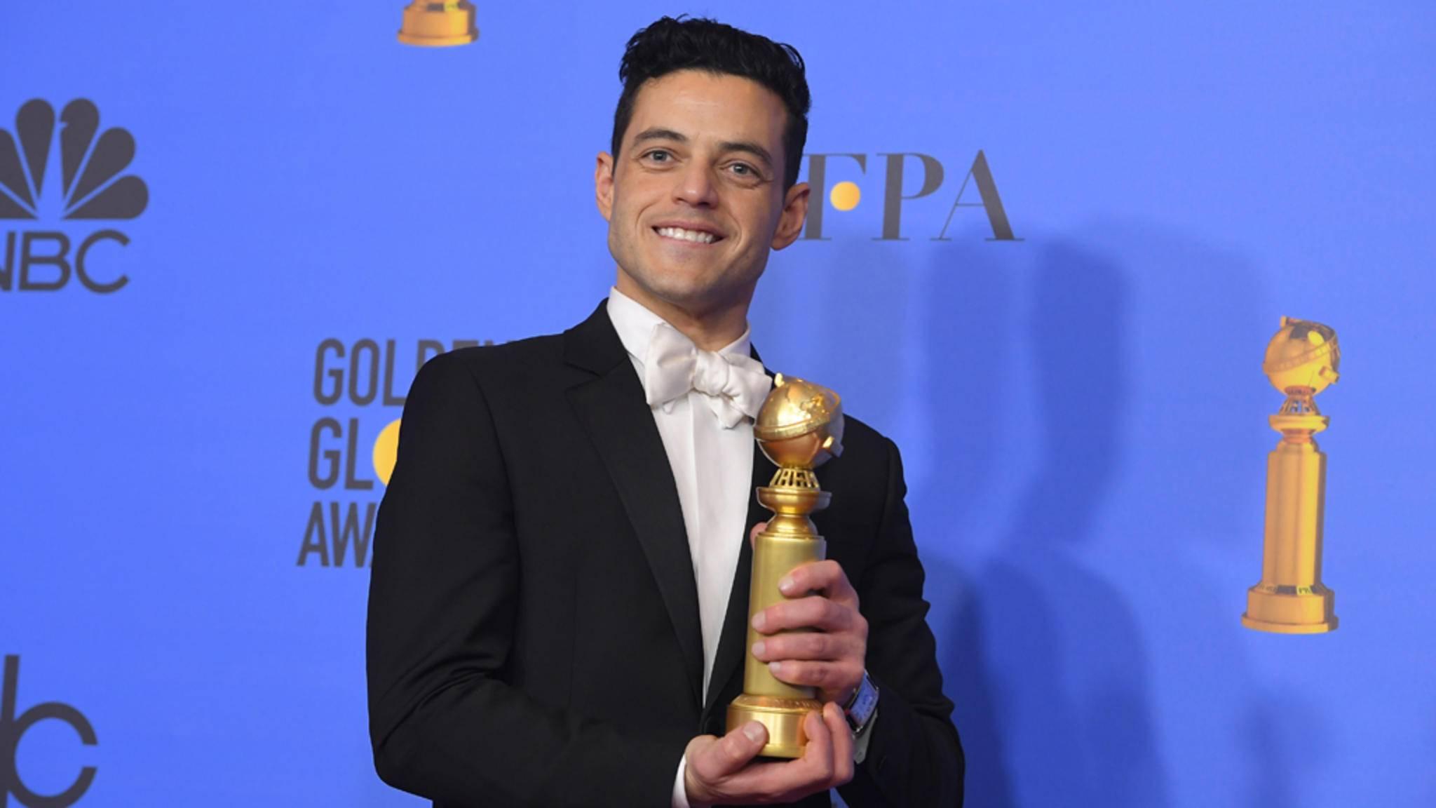 Herzlichen Glückwunsch, Rami Malek. Next Stop: Oscars 2019?