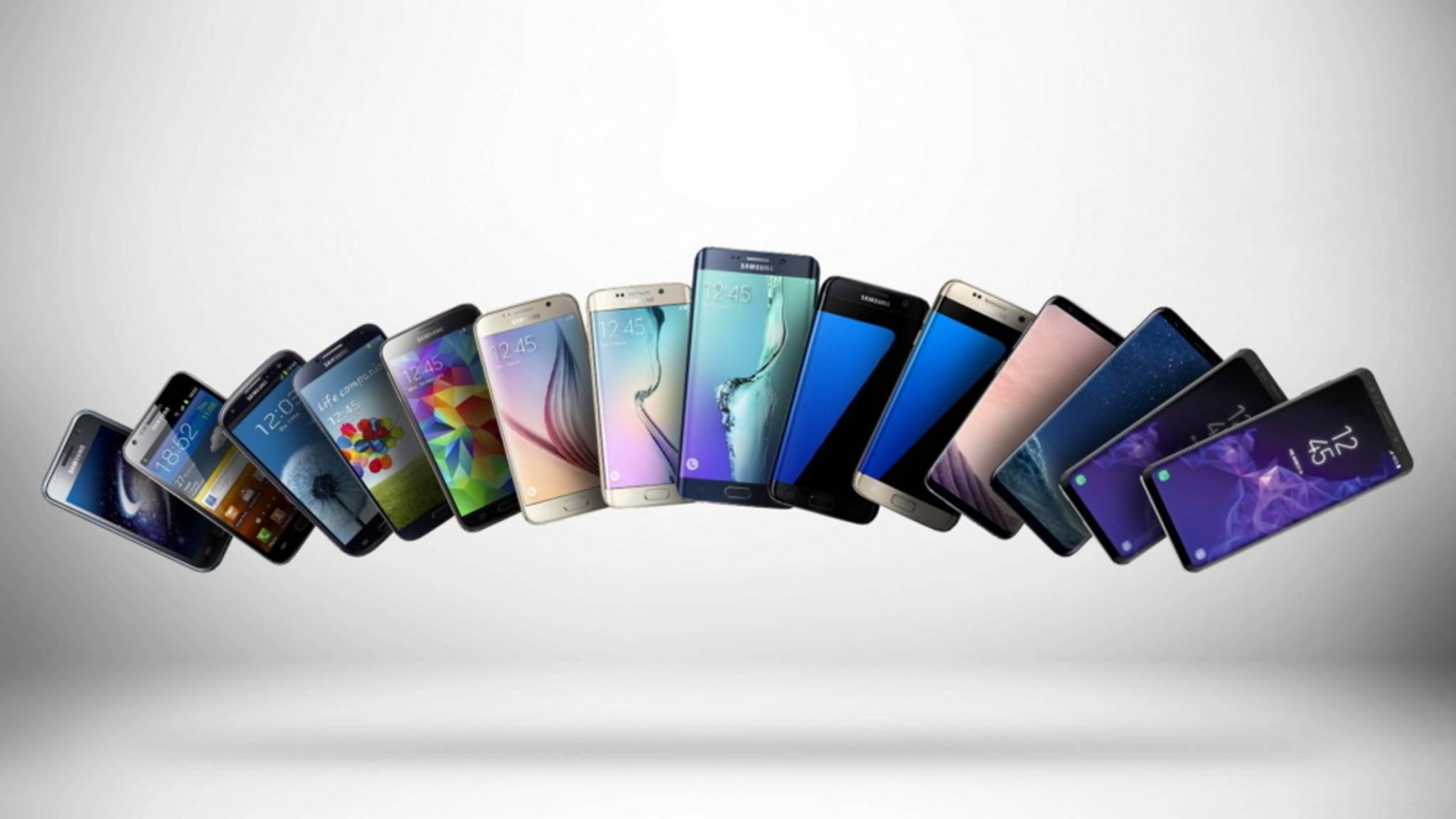 Mit der Galaxy-S-Serie hat Samsung den schärfsten iPhone-Konkurrenten etabliert.