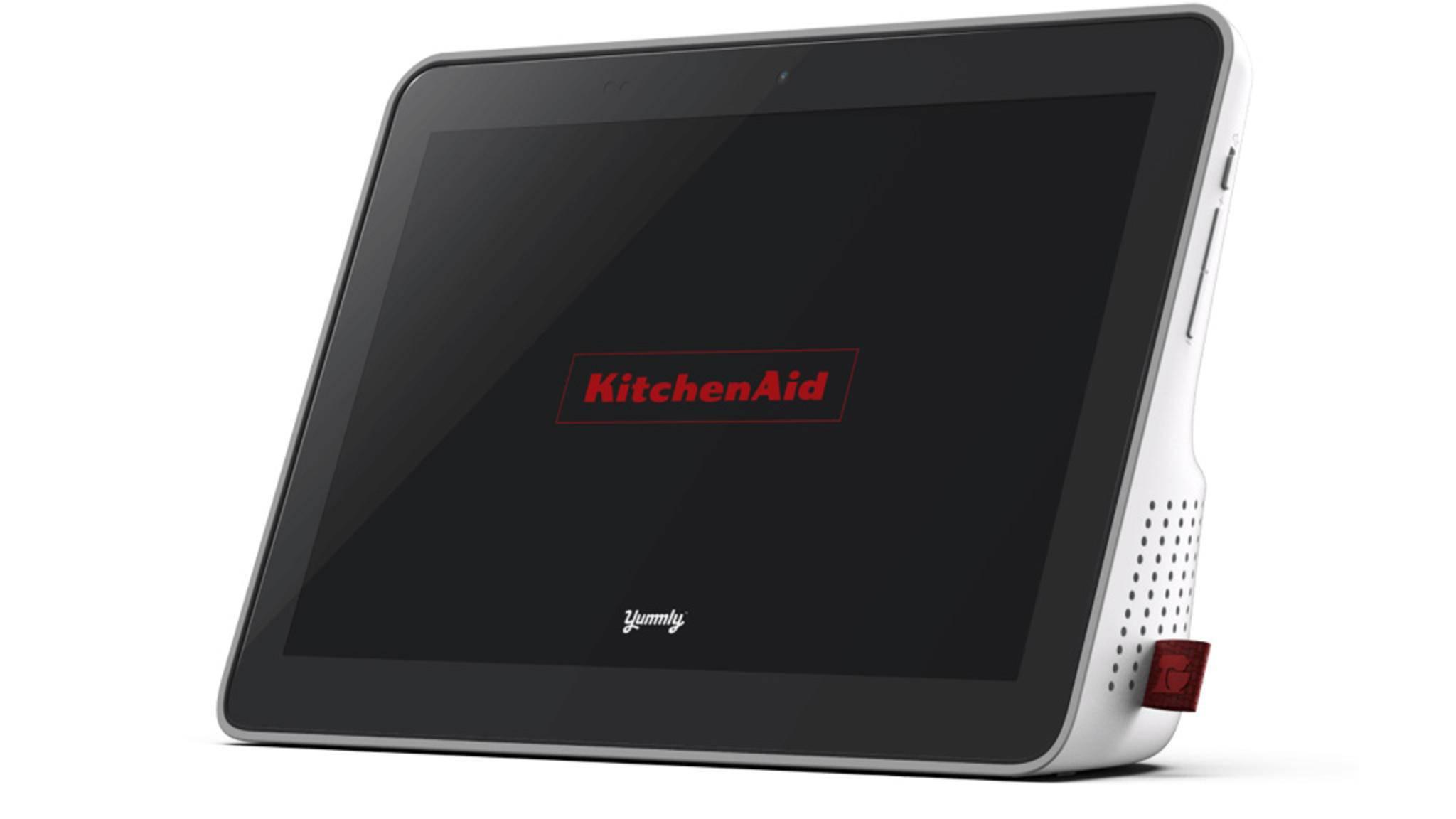KitchenAid bringt demnächst auch ein smartes Display als Küchenhelfer auf den Markt.